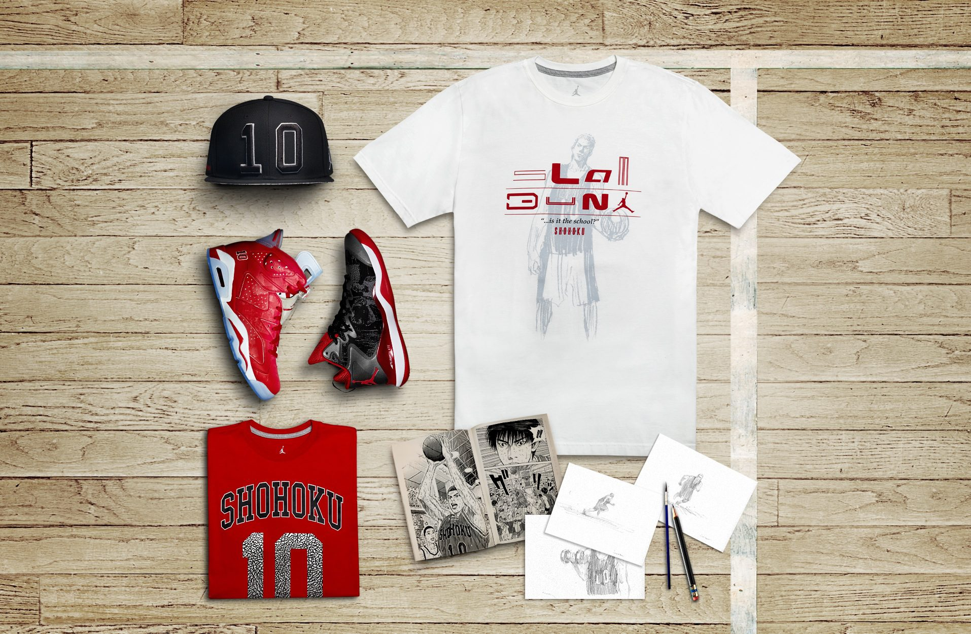 bf57a079f457 ... Slam Dunk box two 34103 Slam Dunk graphic two 34095  Slam Dunk laydown 34068 Slam Dunk tee 34097 Slam Dunk tee ten 34101 SLAMDUNK  GRAPHIC.