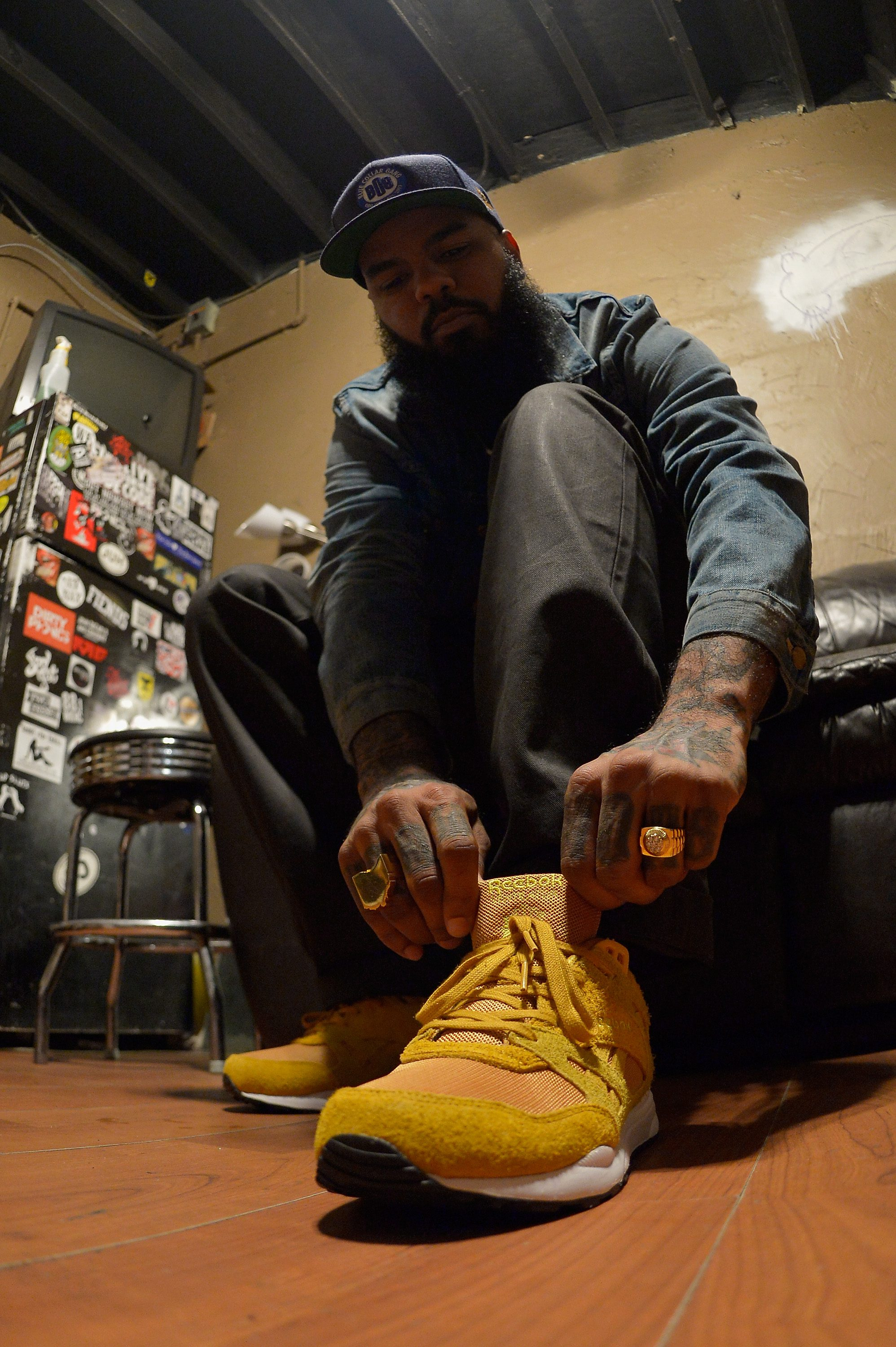"Stalley Wears The Reebok Classic ""Ventilator"" Sneakers"