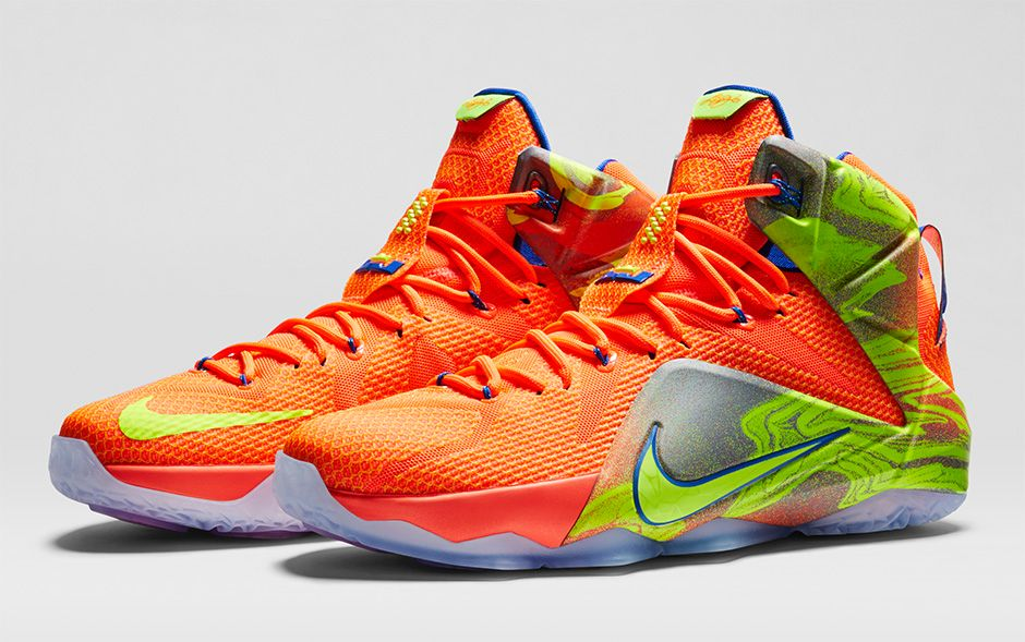 73e92543b2a ... official store bmf hoops nike lebron 12 six meridians collection  hardwood and hollywood a89a9 fb8db