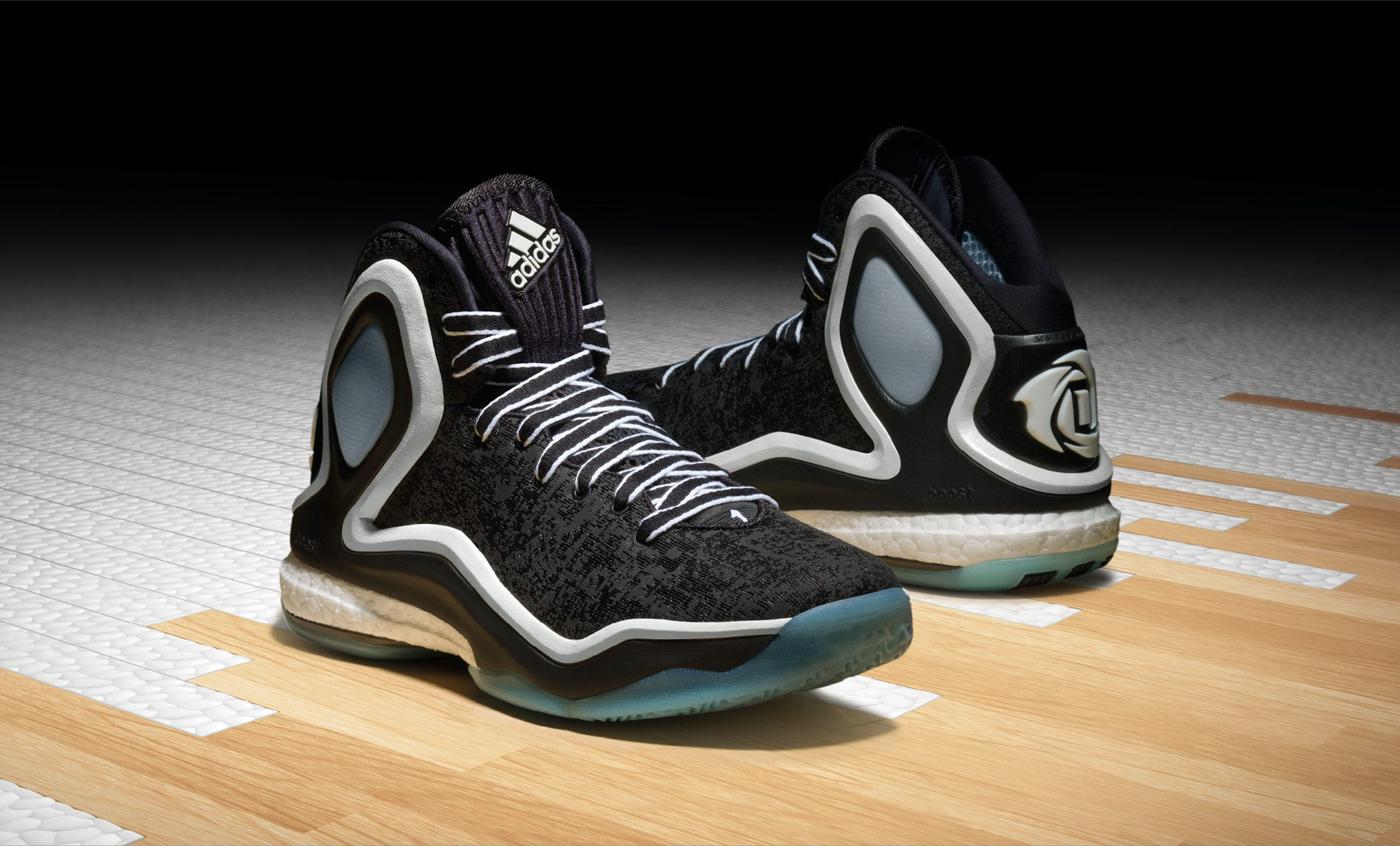 adidas D Rose 5 Boost Chicago Ice, C76546, 1
