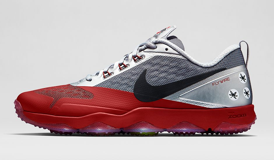 new concept 2c285 f9a58 BMF Training  Nike Zoom Hypercross TR Ohio State
