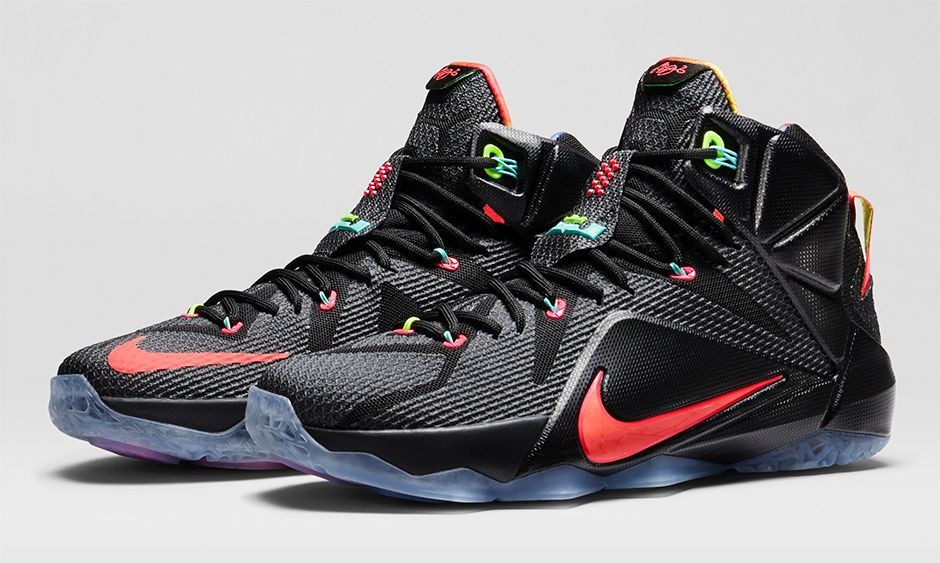 reputable site 330c8 4eda2 BMF Hoops: Nike LeBron 12 'Data' - Hardwood and Hollywood