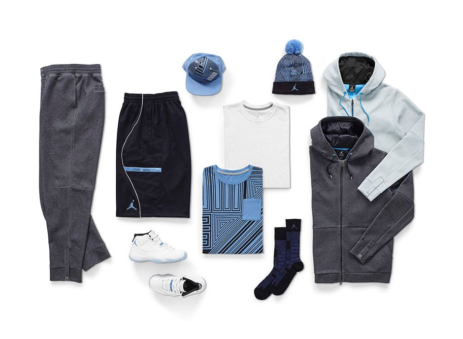 Nike Air Jordan 11 Xi Leyenda Retro Azul Columbia Chaqueta Blanca N2KzU