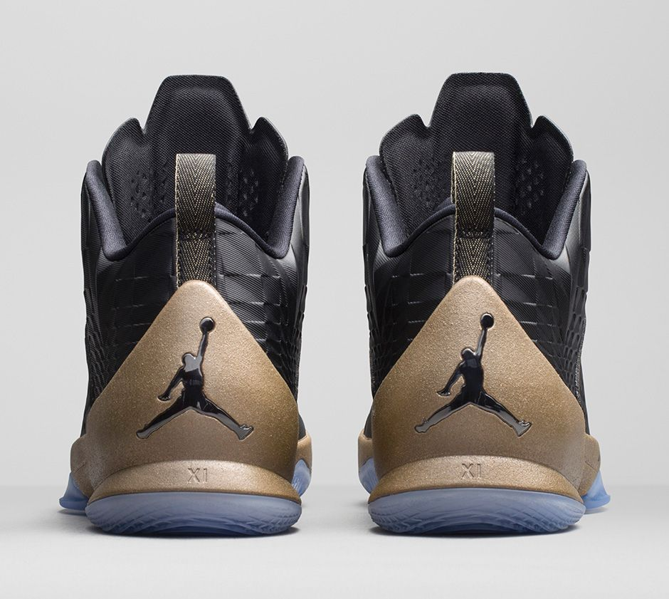 new products 5a954 90868 BMF Debut  Jordan Melo M11  Black Gold