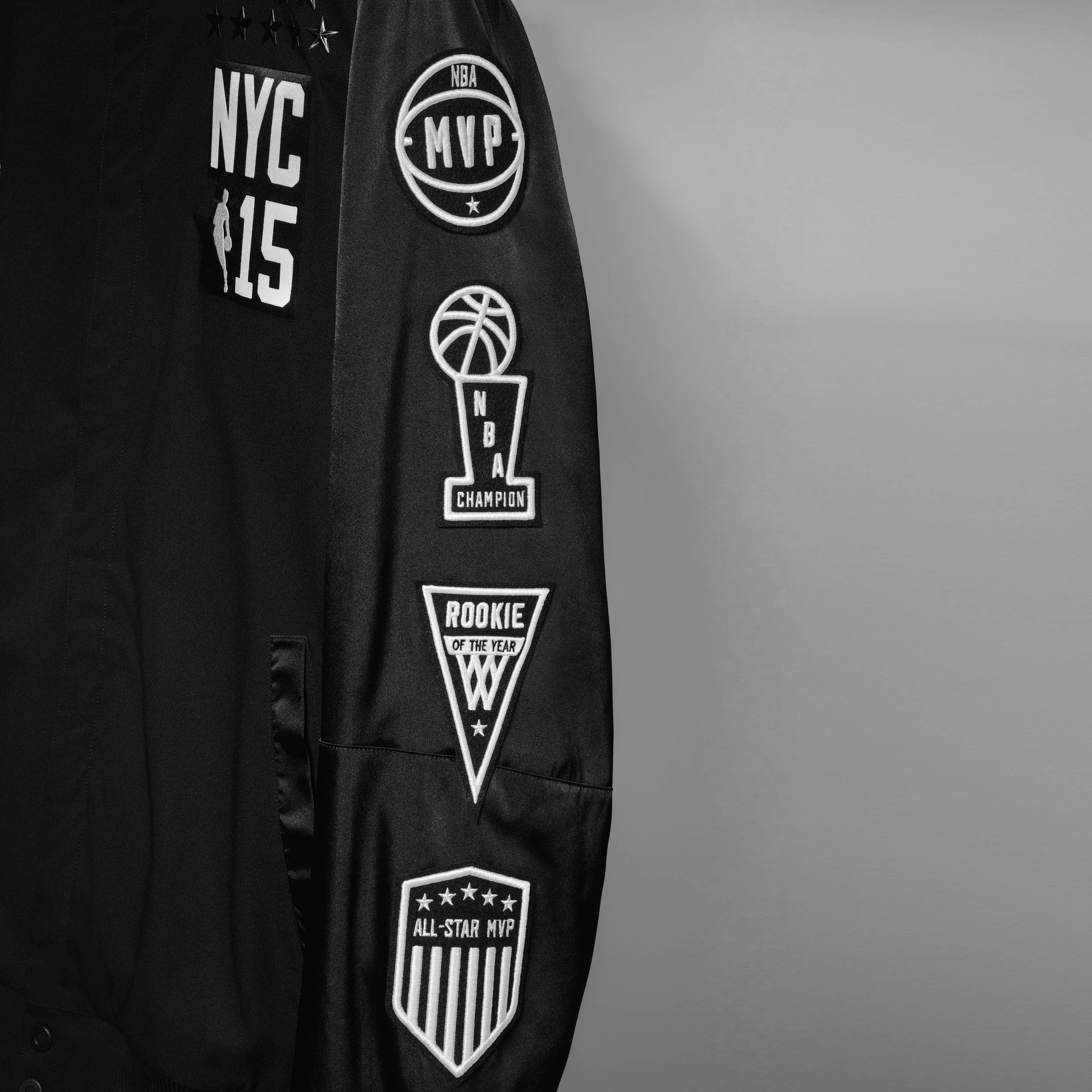 adidas NBA All-Star 2015 Jacket Sleeve, Sq