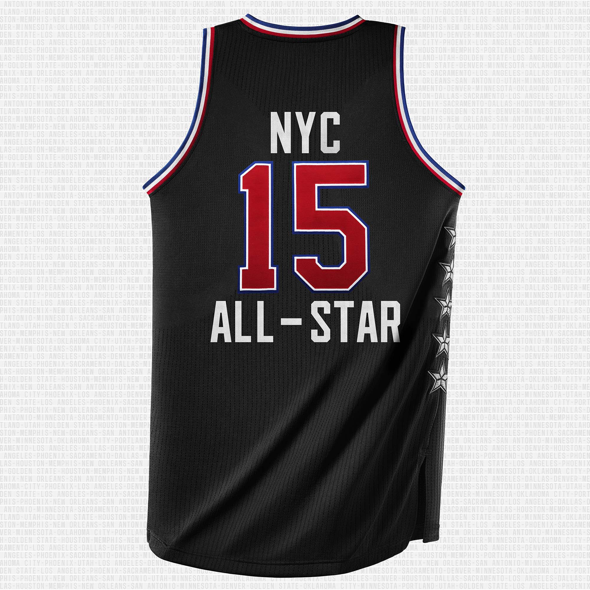 adidas NBA All-Star Jersey West Back (2)