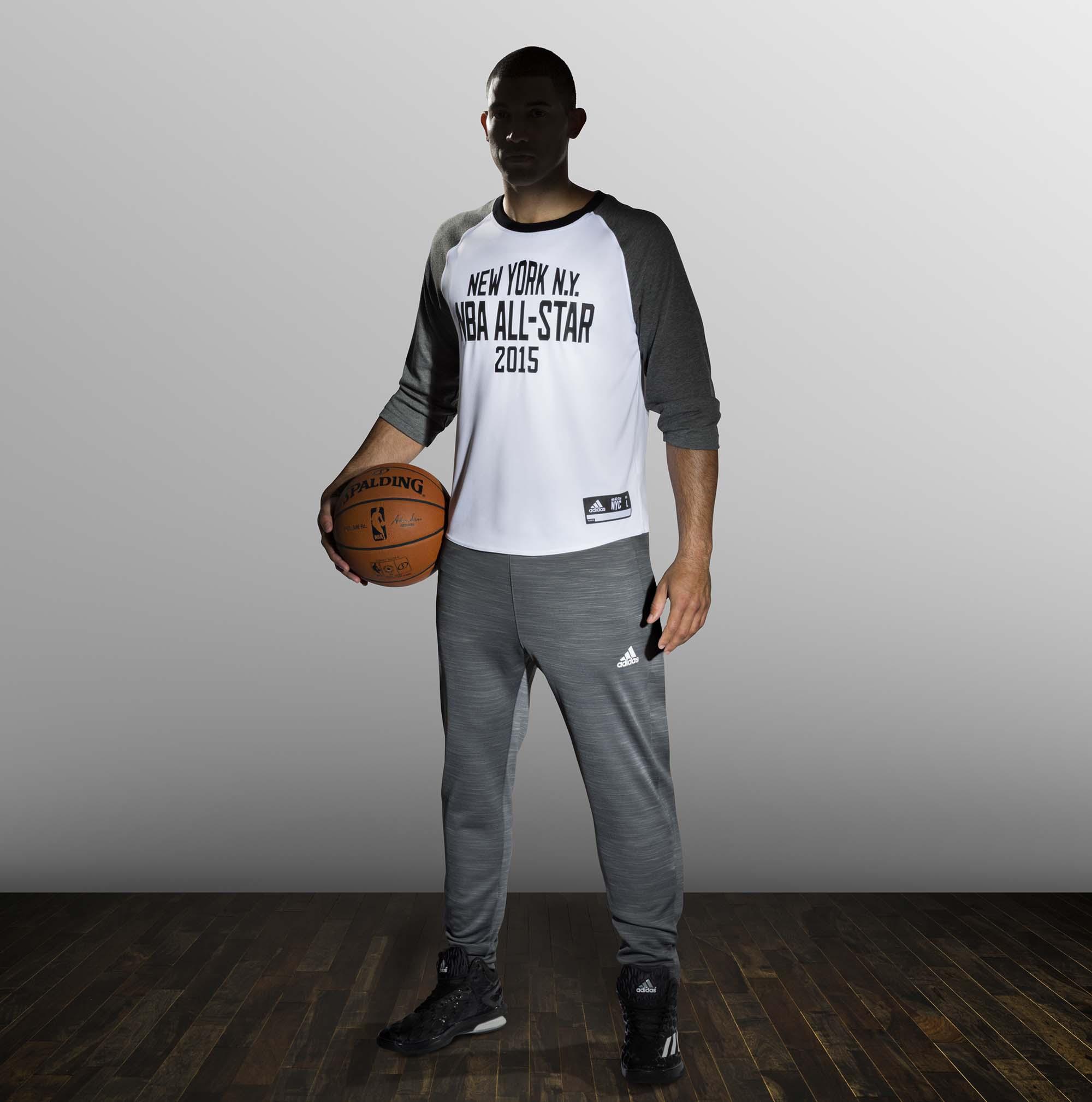 adidas NBA All-Star Shooting Shirt, Sq