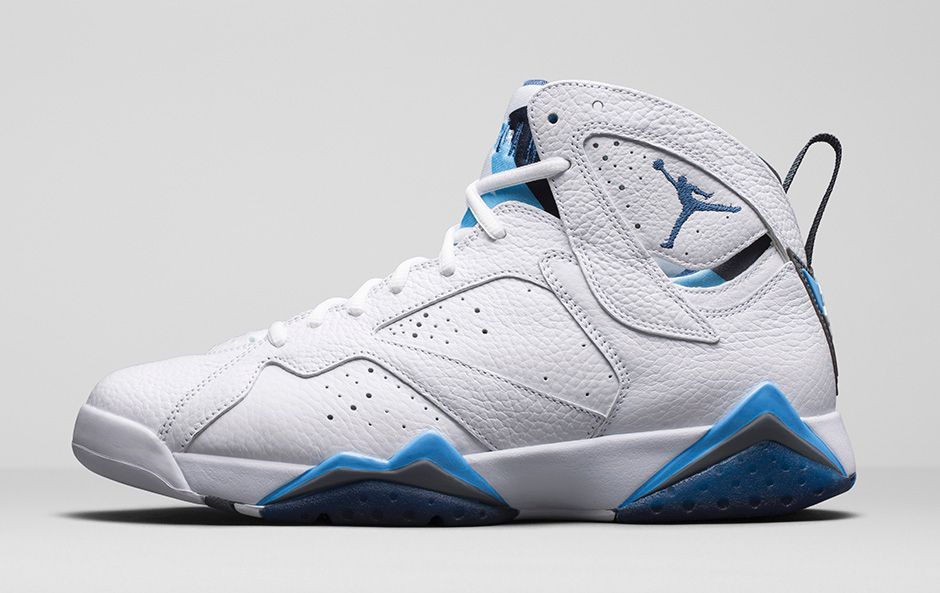 online store 6ebe3 e784c The Dets  Air Jordan 7 Retro  French Blue  Remastered