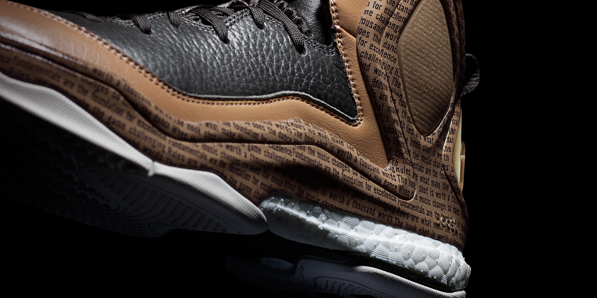 adidas D Rose 5 BHM, Detail H (D68945)