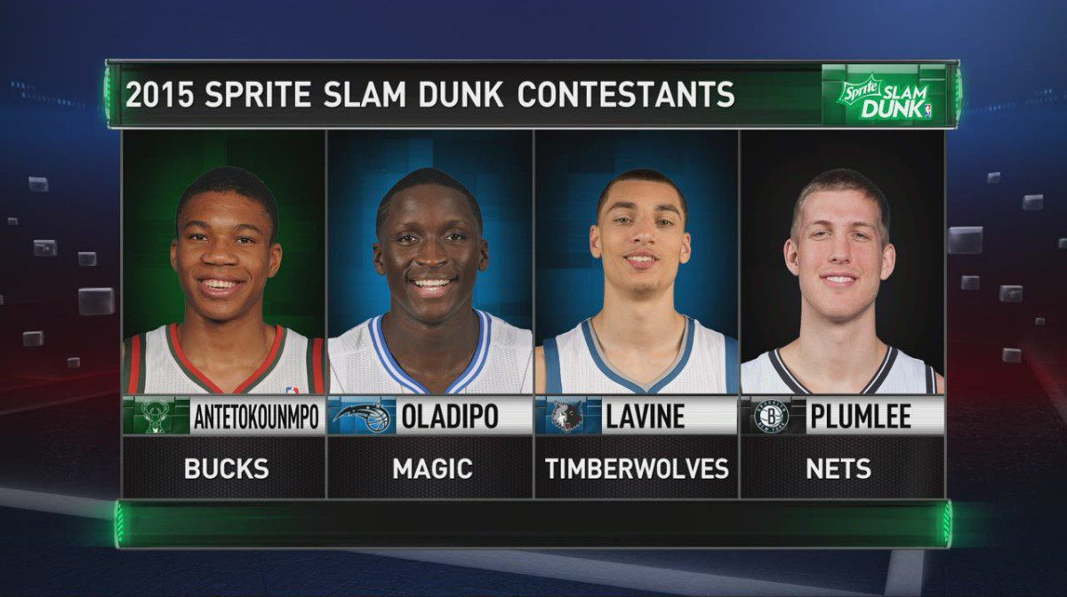 NBA All-Star Slam Dunk Contest  Zach LaVine Goes  Space Jam  fec1696a703d