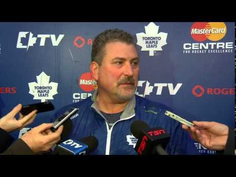 Screenshot courtesy of Toronto Maple Leafs/Youtube