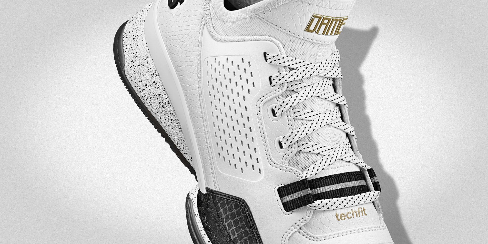 adidas D Lillard 1  (S85167) Detail 3 H b