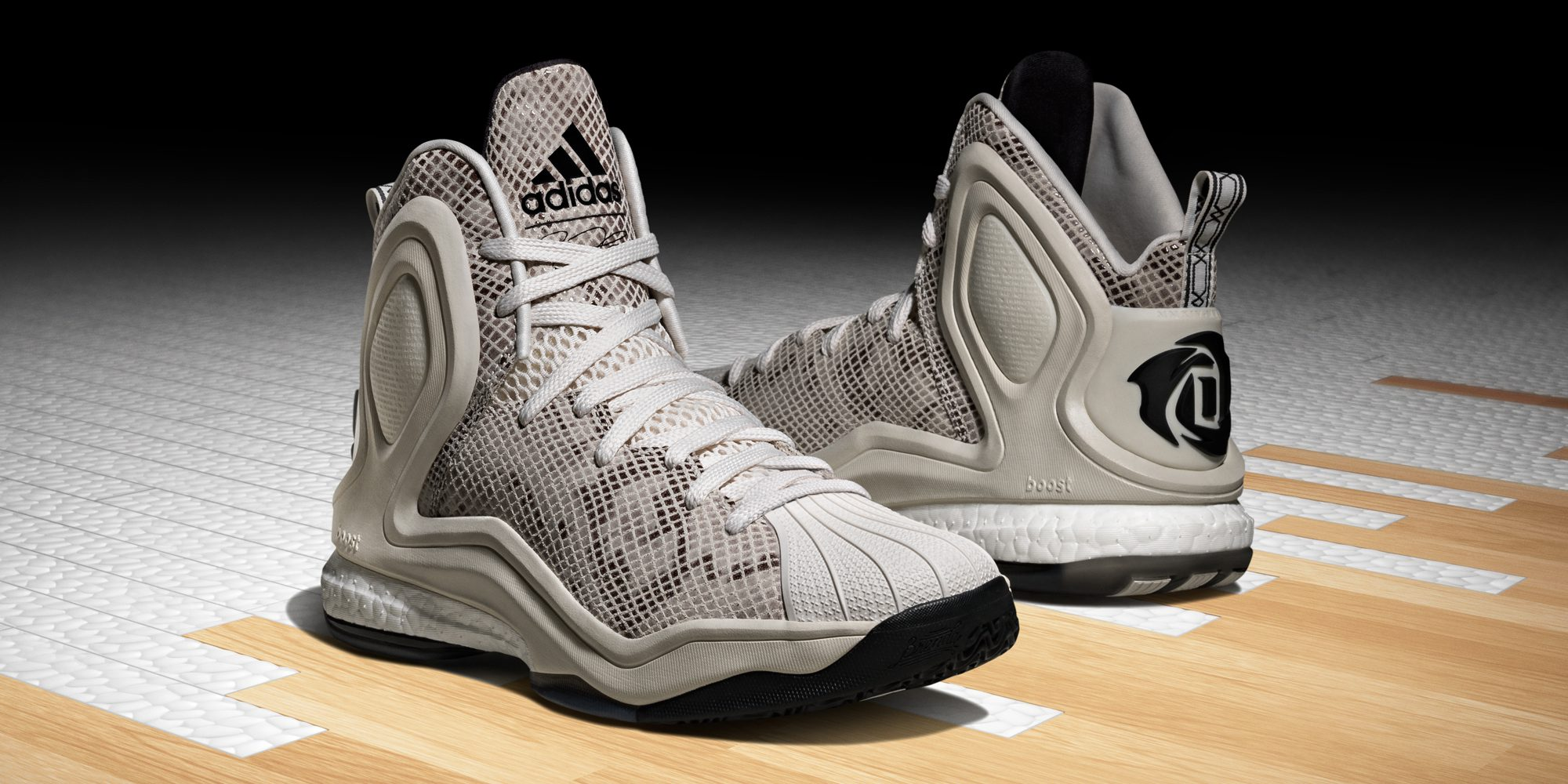 "627d714f19c BMF Debut  adidas D Rose 5 Boost ""Superstar"""