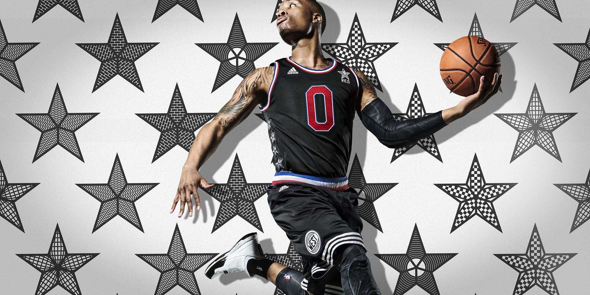 adidas Damian Lillard NBA All-Star 2015 1 H