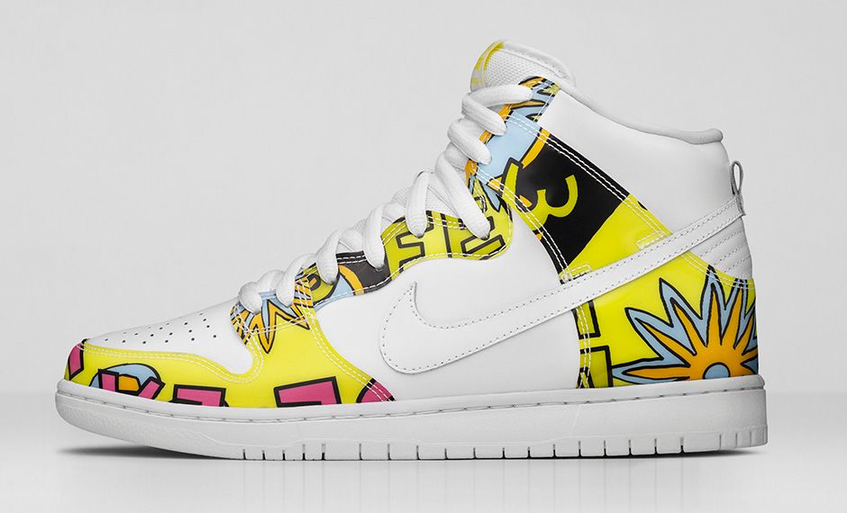Nike Skates 'Three Feet High' with Dunk High PRM SB 'De La Soul' - Hardwood  and Hollywood