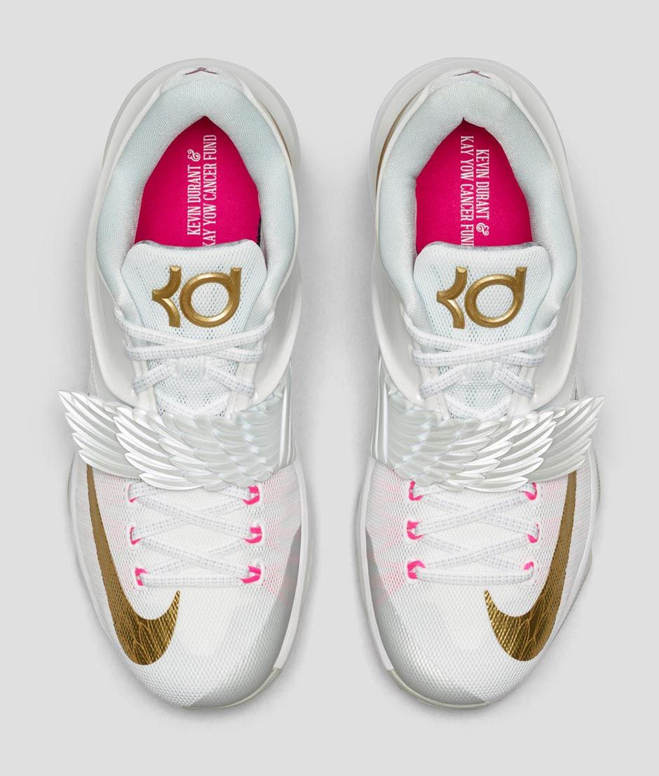 4dfaa7a7b8dd57 Nike KD7 Premium  Aunt Pearl  Has  Deeper Meaning  - Hardwood and ...