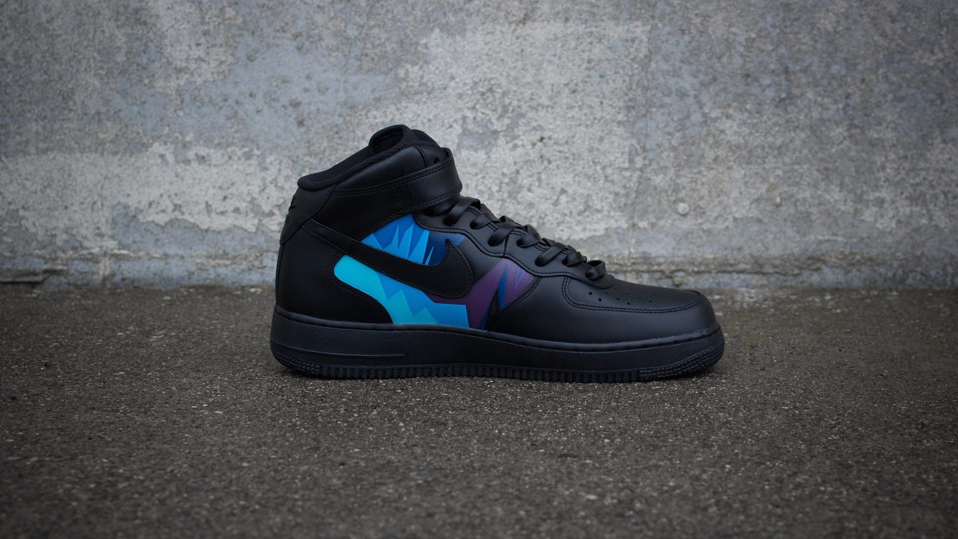 online store 292ae bc025 ... Nike Air Force 1 Mid NBA Black  IMG 1586 IMG 1559 IMG 1569 IMG 1462 IMG  1464 .