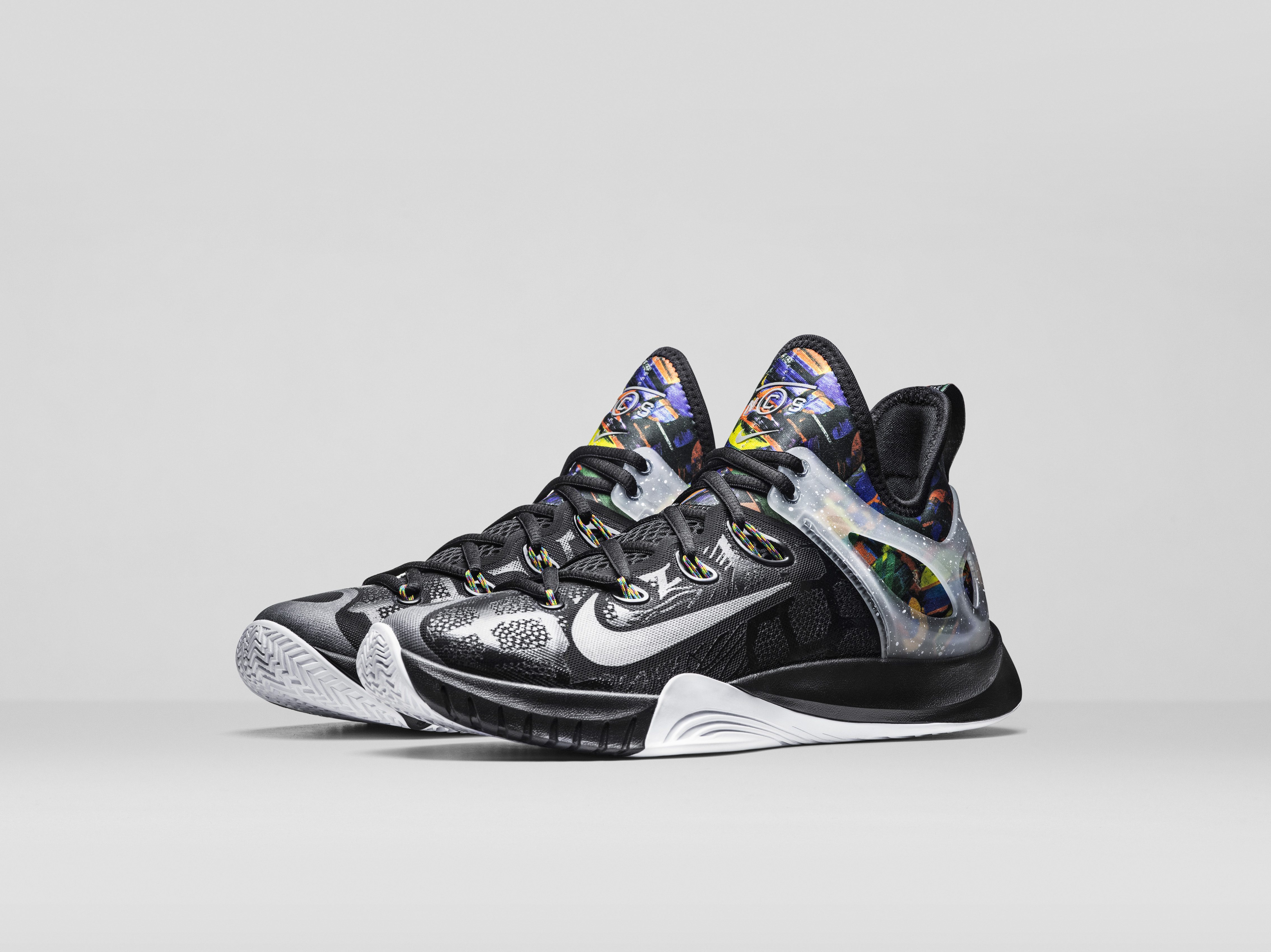 c64ed78092c8 ... The Nike Basketball Net Collectors Society Collection consists of two  basketball performance shoes — the Nike  Nike Zoom Hyperrev 2015 ...