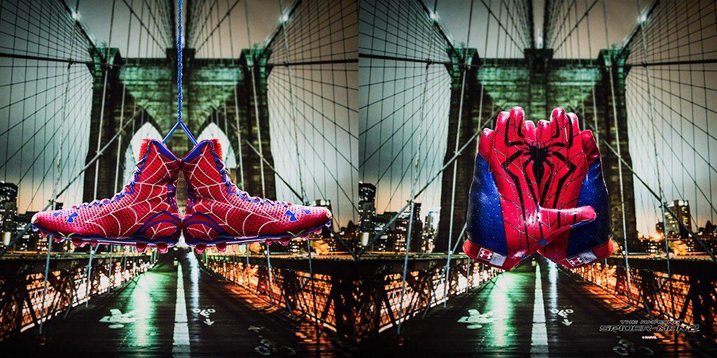 spiderman football cleats