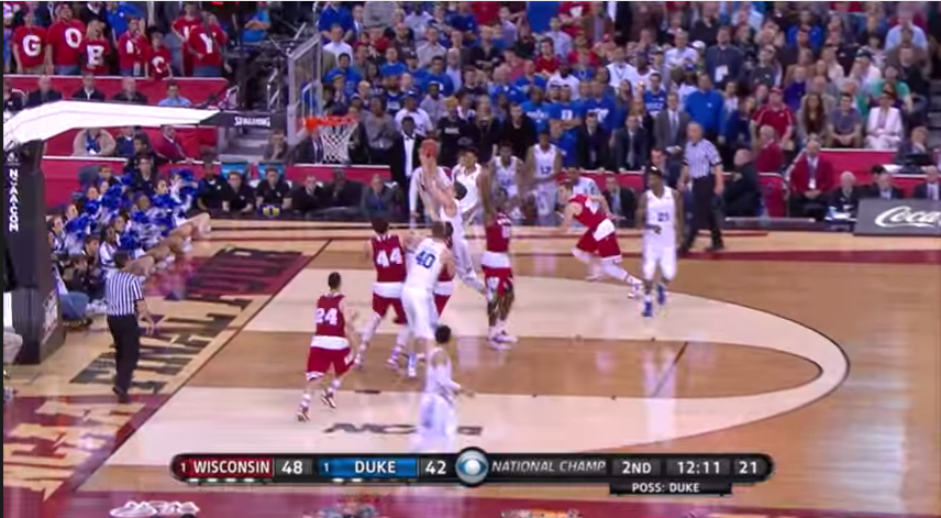 Duke-Wisconson-NCAA
