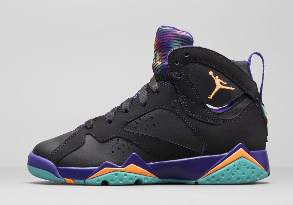 cf382541b4e Girls' Air Jordan 7 Retro in Court Purple is 'ILL' - Hardwood and ...