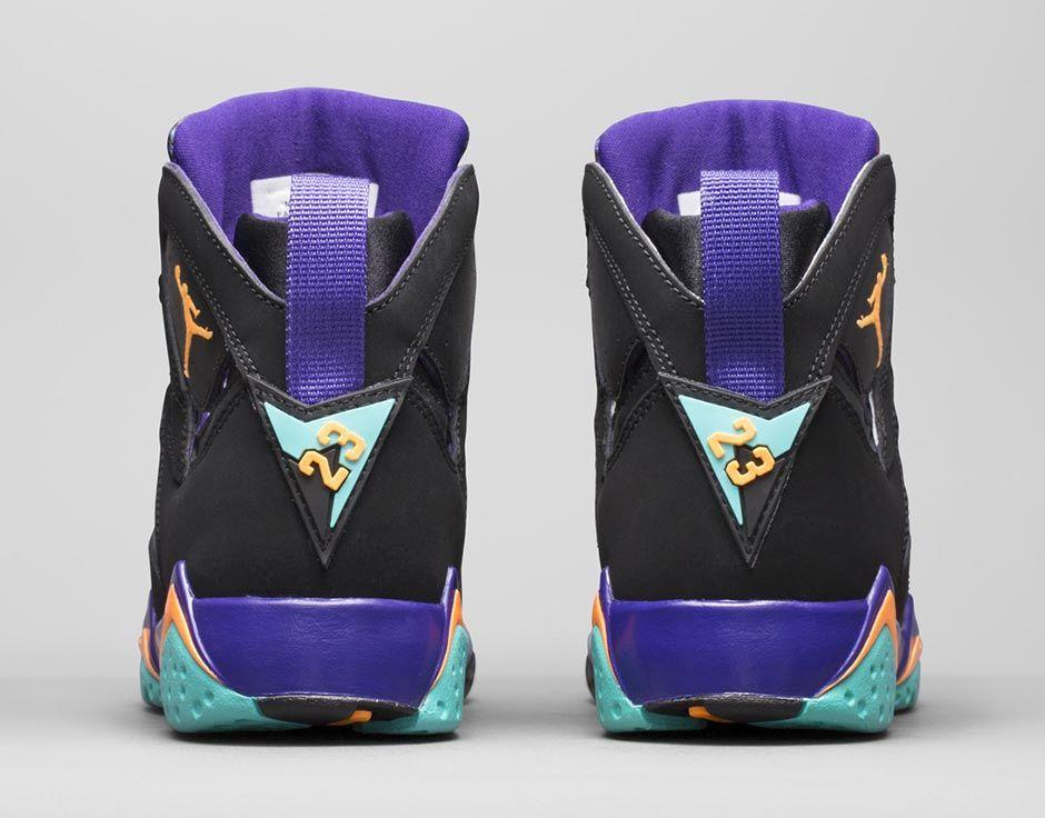 best loved 6f386 f2c7d Girls' Air Jordan 7 Retro in Court Purple is 'ILL ...