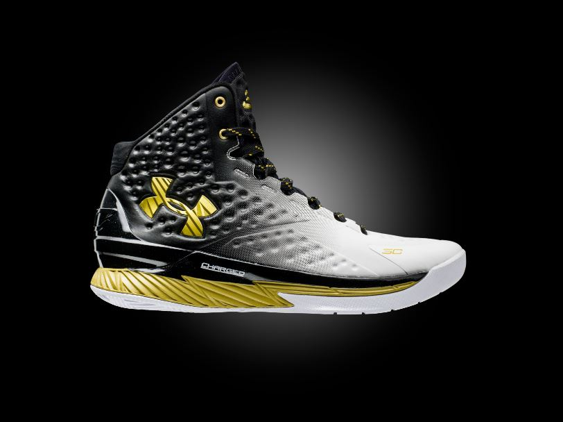 f40cfe3b05b5 Stephen Curry honored with Under Armour Curry One MVP