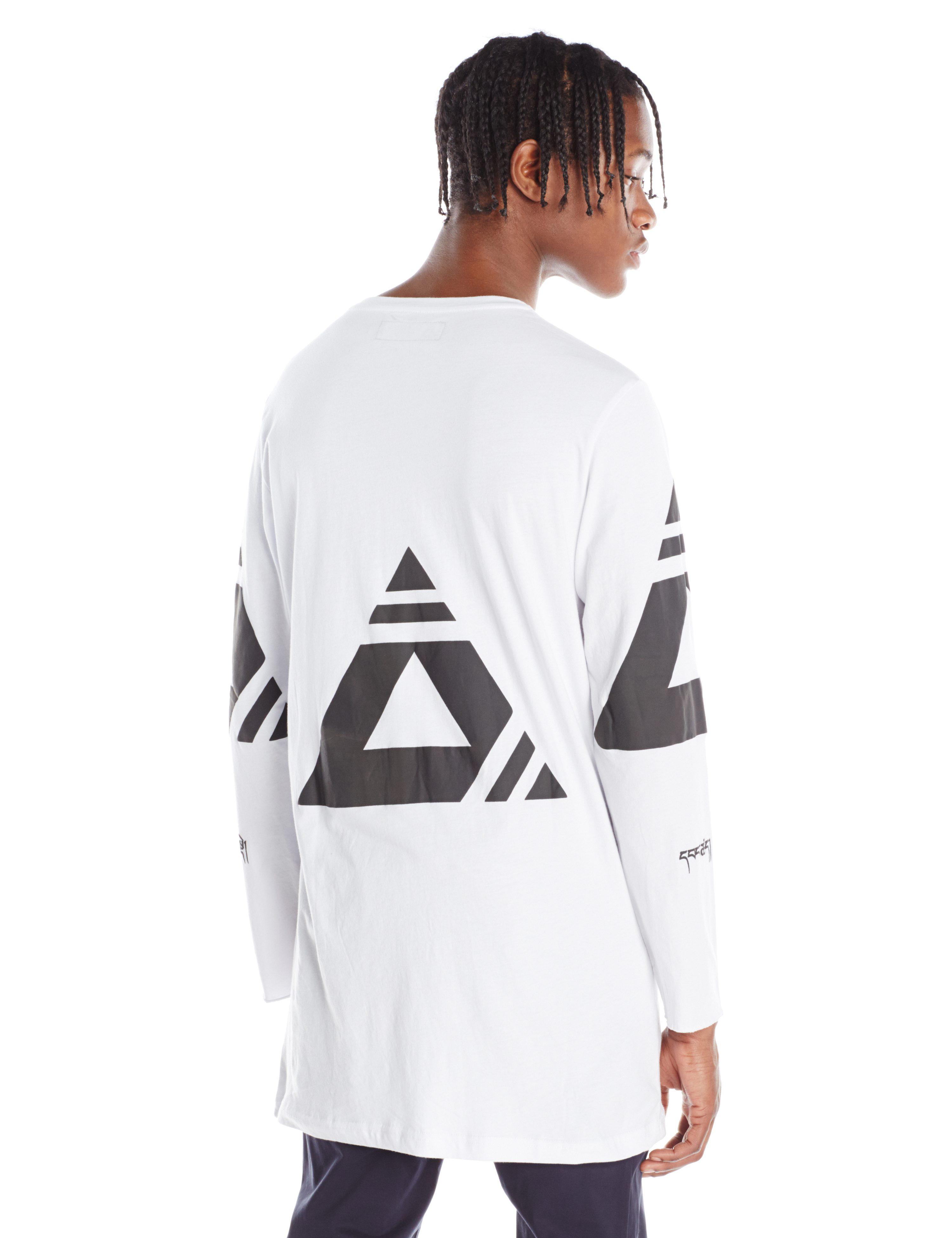 BACK-CLONE TEE WHITE BLACK.0336