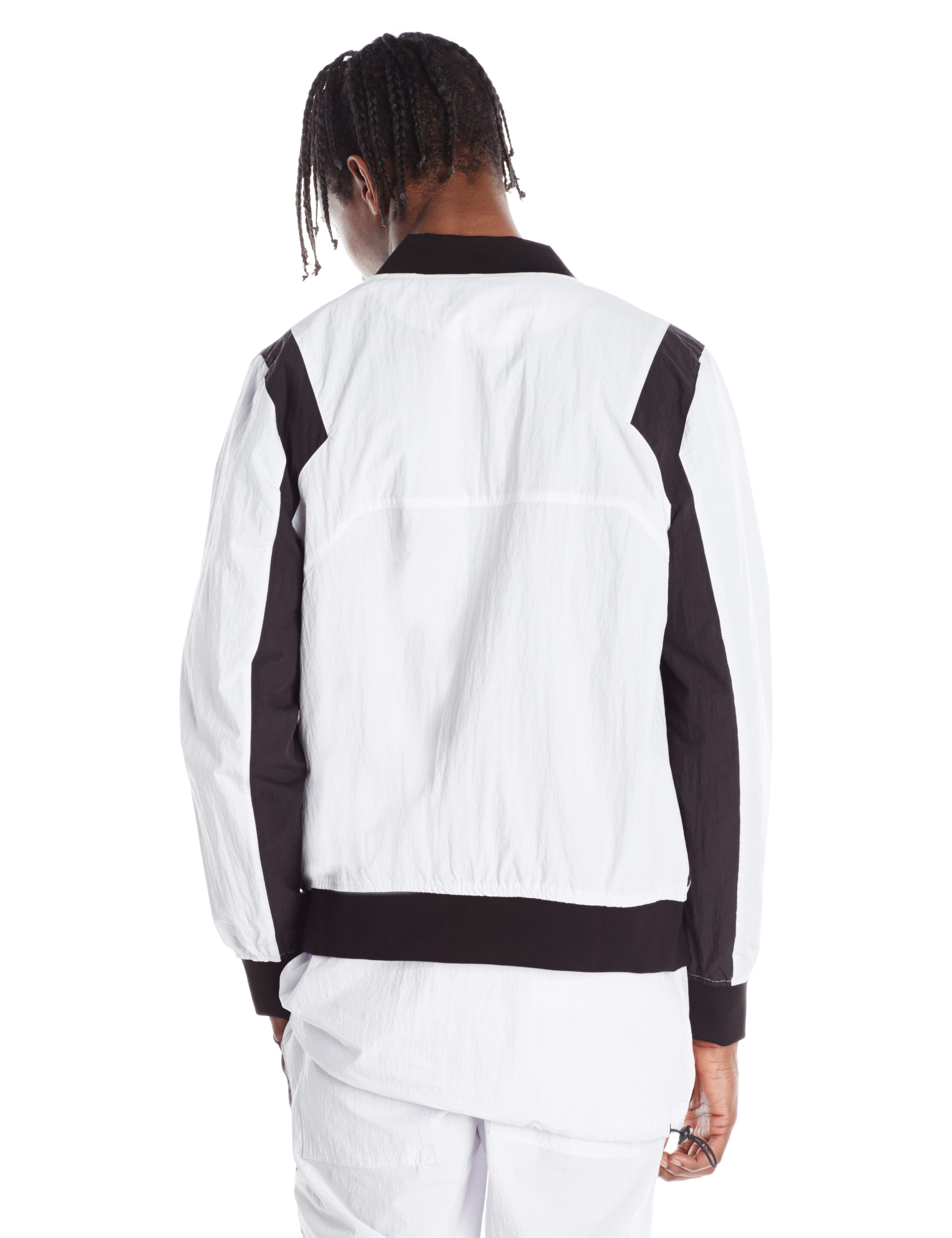 BACK-MALWARE BOMBER WHITE BLACK.1923