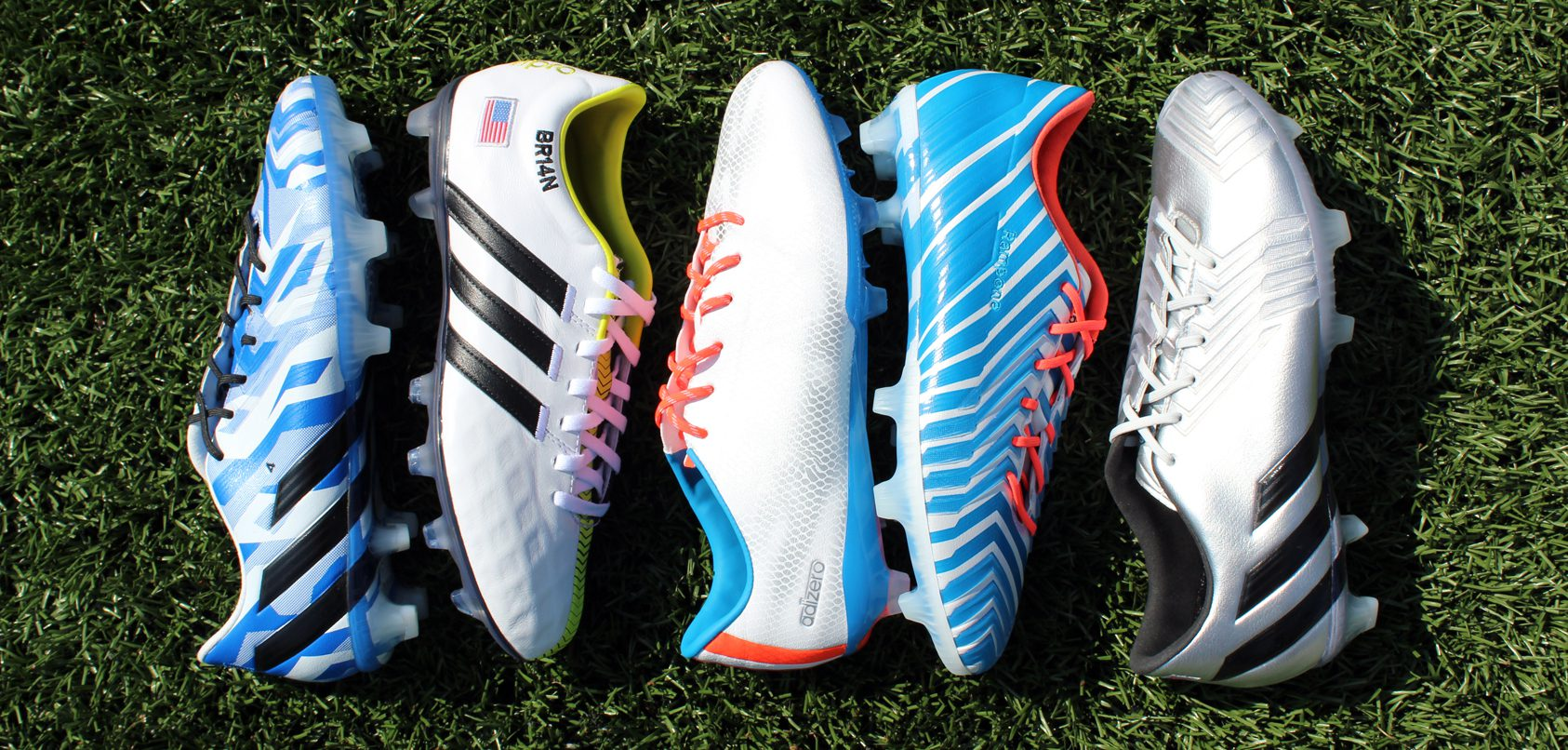 BMF Soccer  adidas 2015 FIFA Women s World Cup miadidas USA Cleat Pack 88045db46b