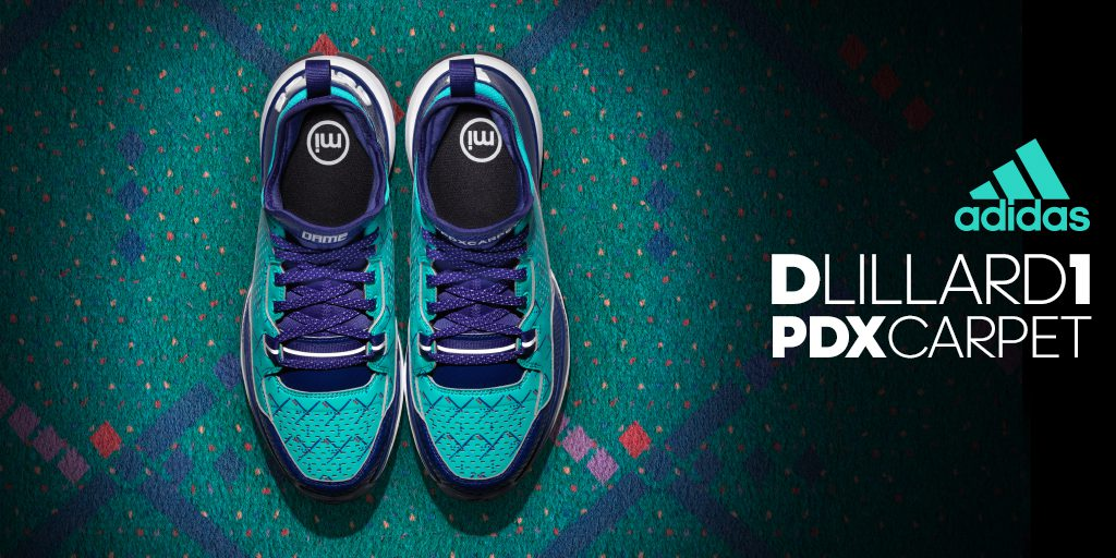 newest collection f4ec6 201cf BMF Hoops Debut adidas D Lillard 1 PDX Carpet - Hardwood and
