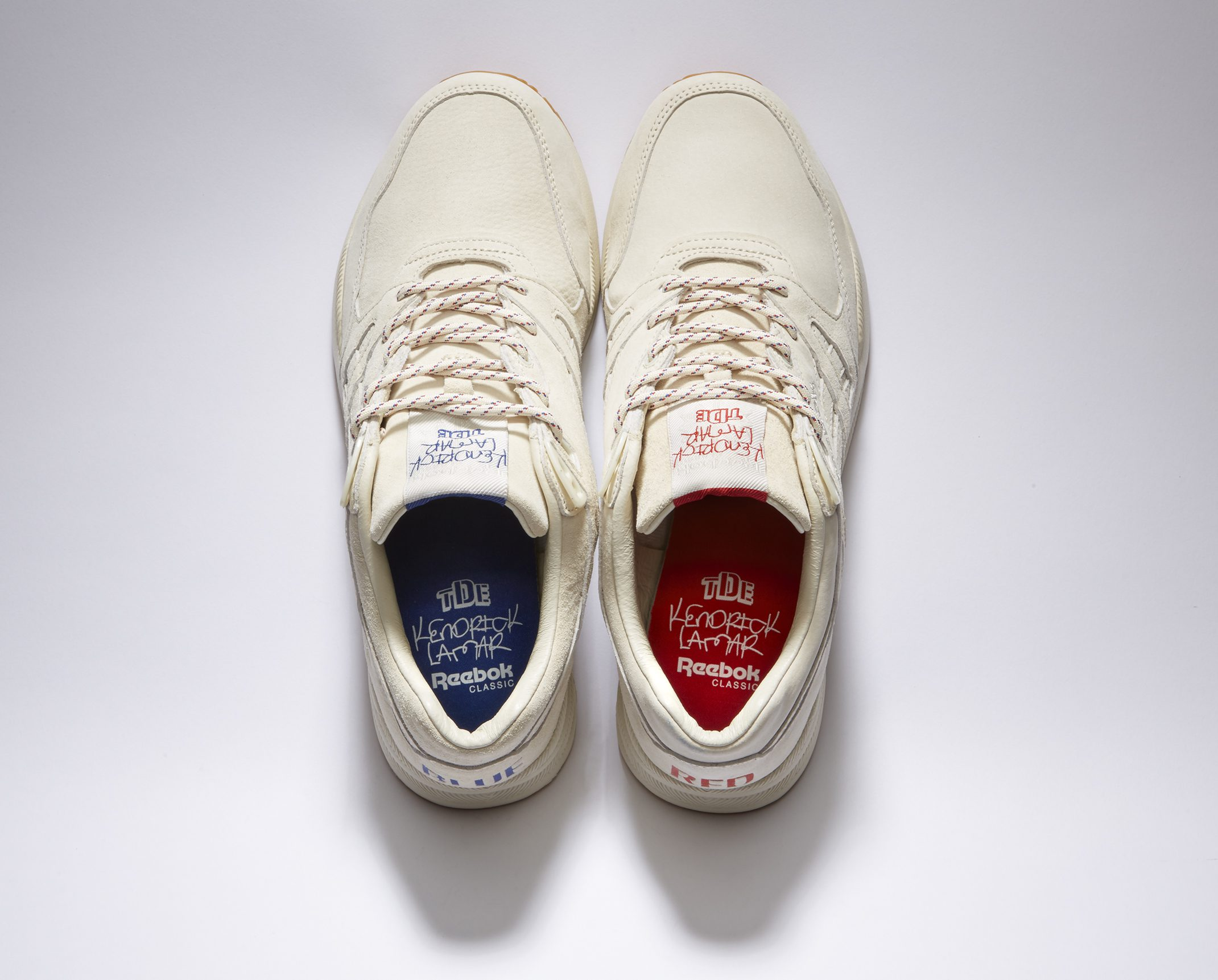 kendrick lamar reebok blue red