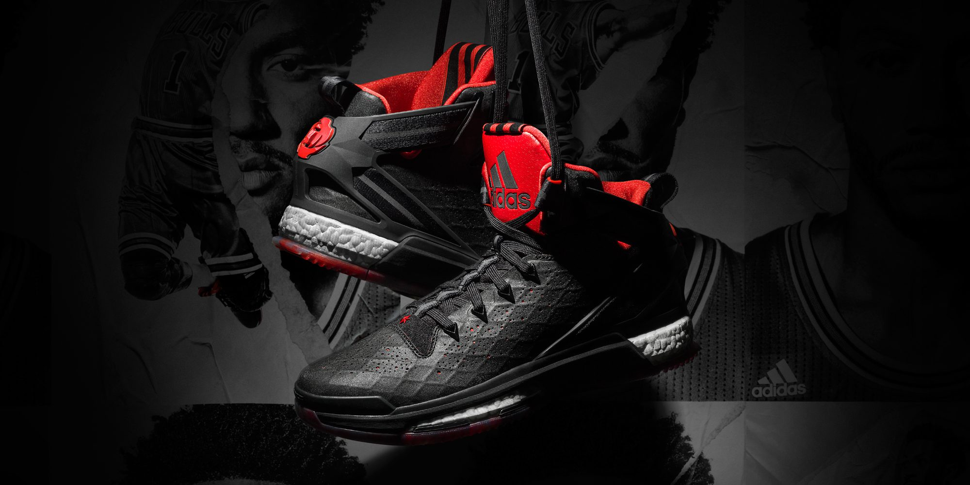 22e4a9ab63c Views From The 6  Derrick Rose debuts the adidas D Rose 6 - Hardwood ...