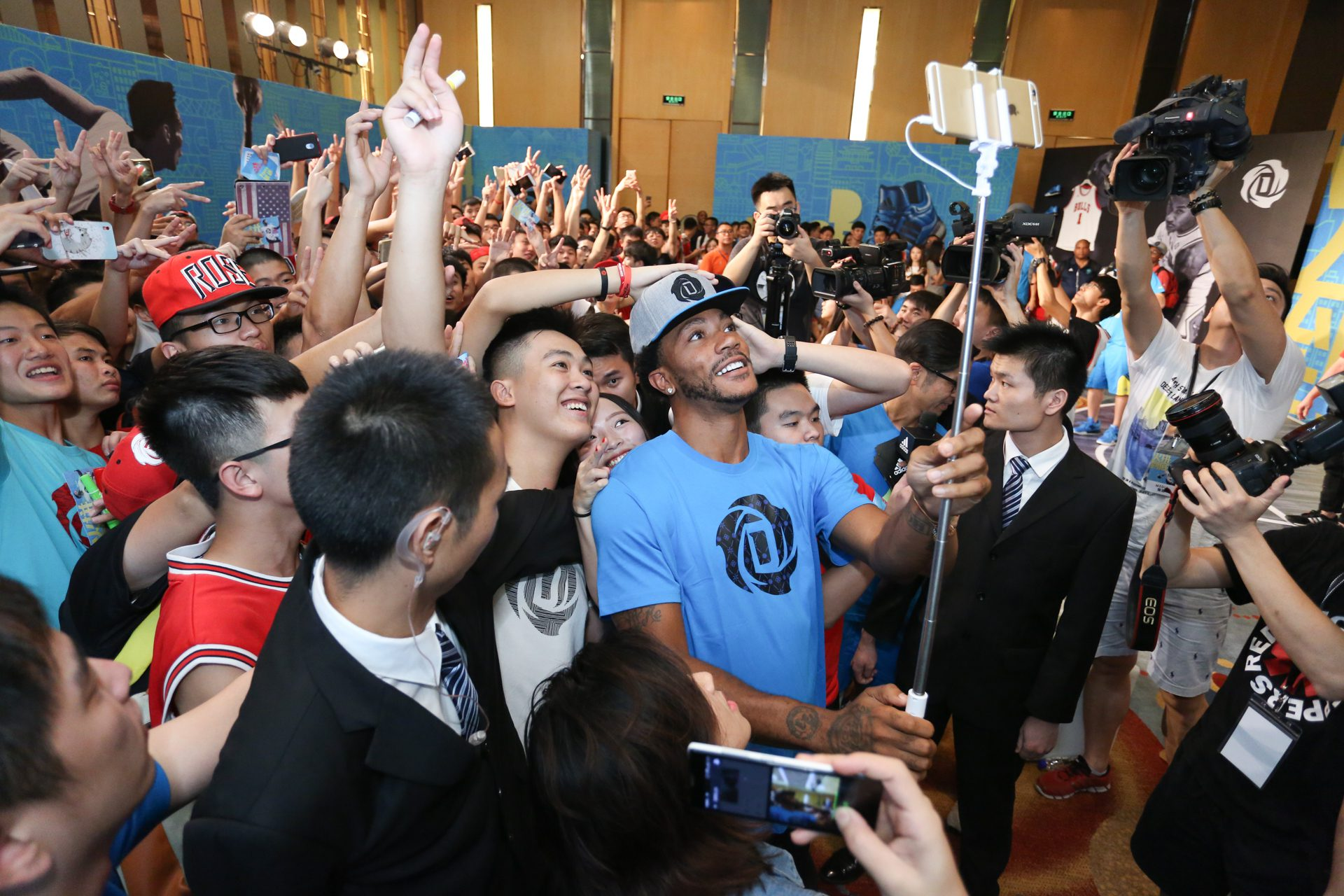 adidas Derrick Rose íºTake on Summerí¿ in Guangzhou, 5