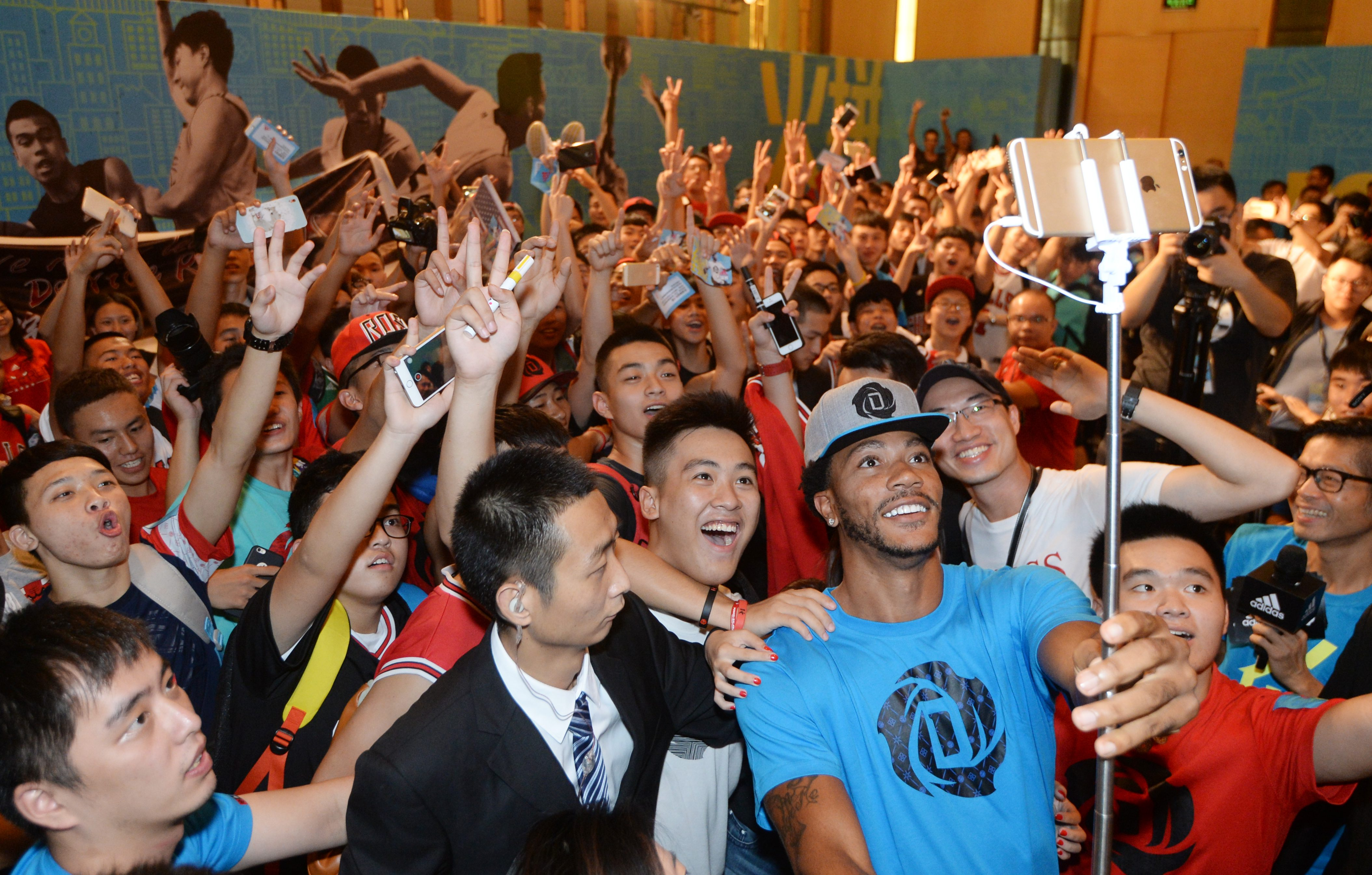adidas Derrick Rose íºTake on Summerí¿ in Guangzhou, 6