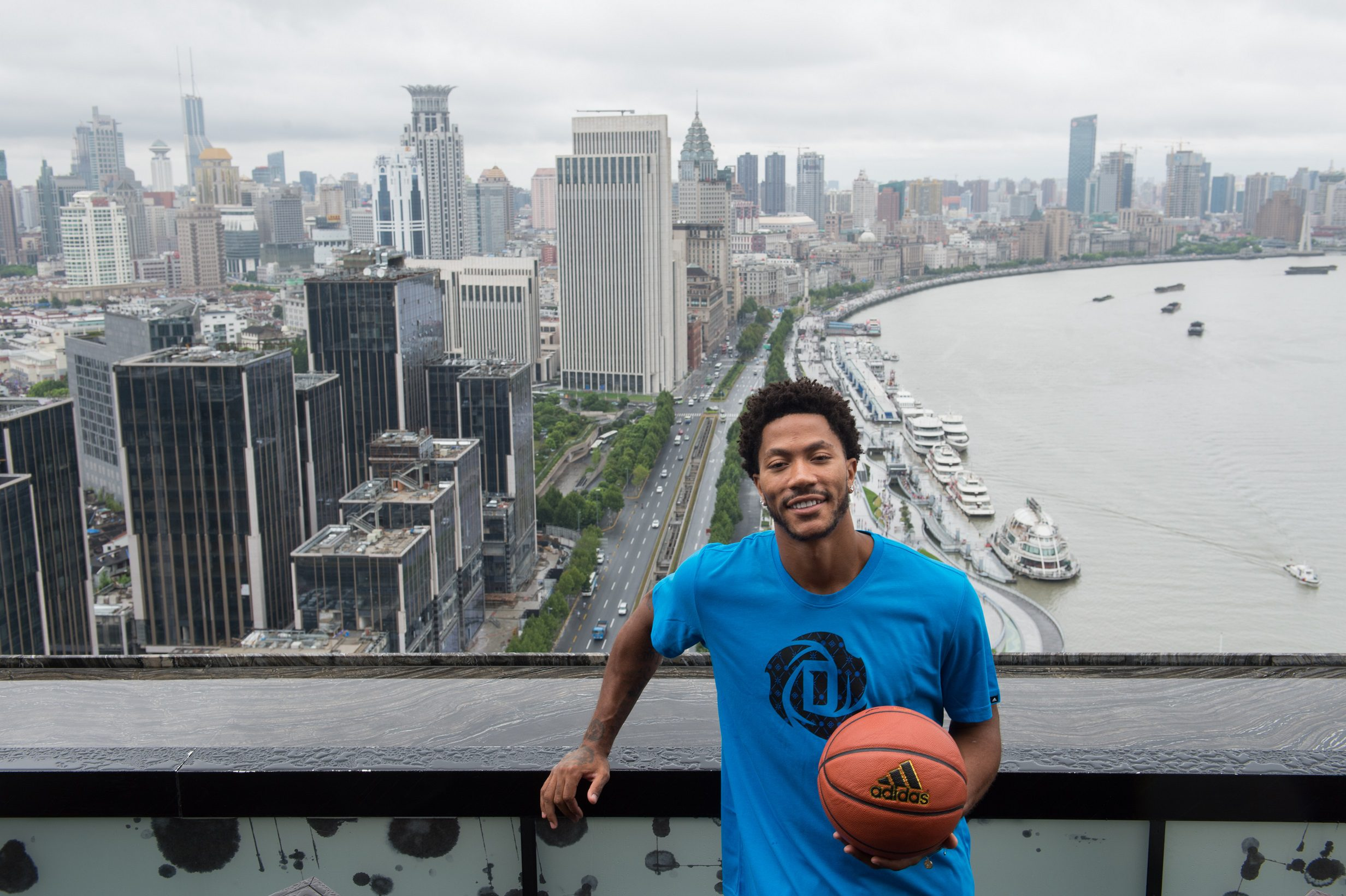 adidas Derrick Rose íºTake on Summerí¿ in Shanghai, 1