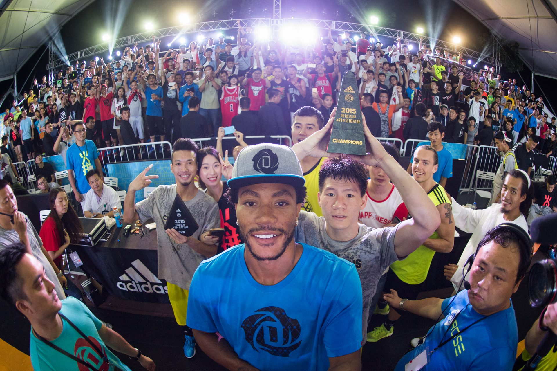 adidas Derrick Rose íºTake on Summerí¿ in Shanghai, 5