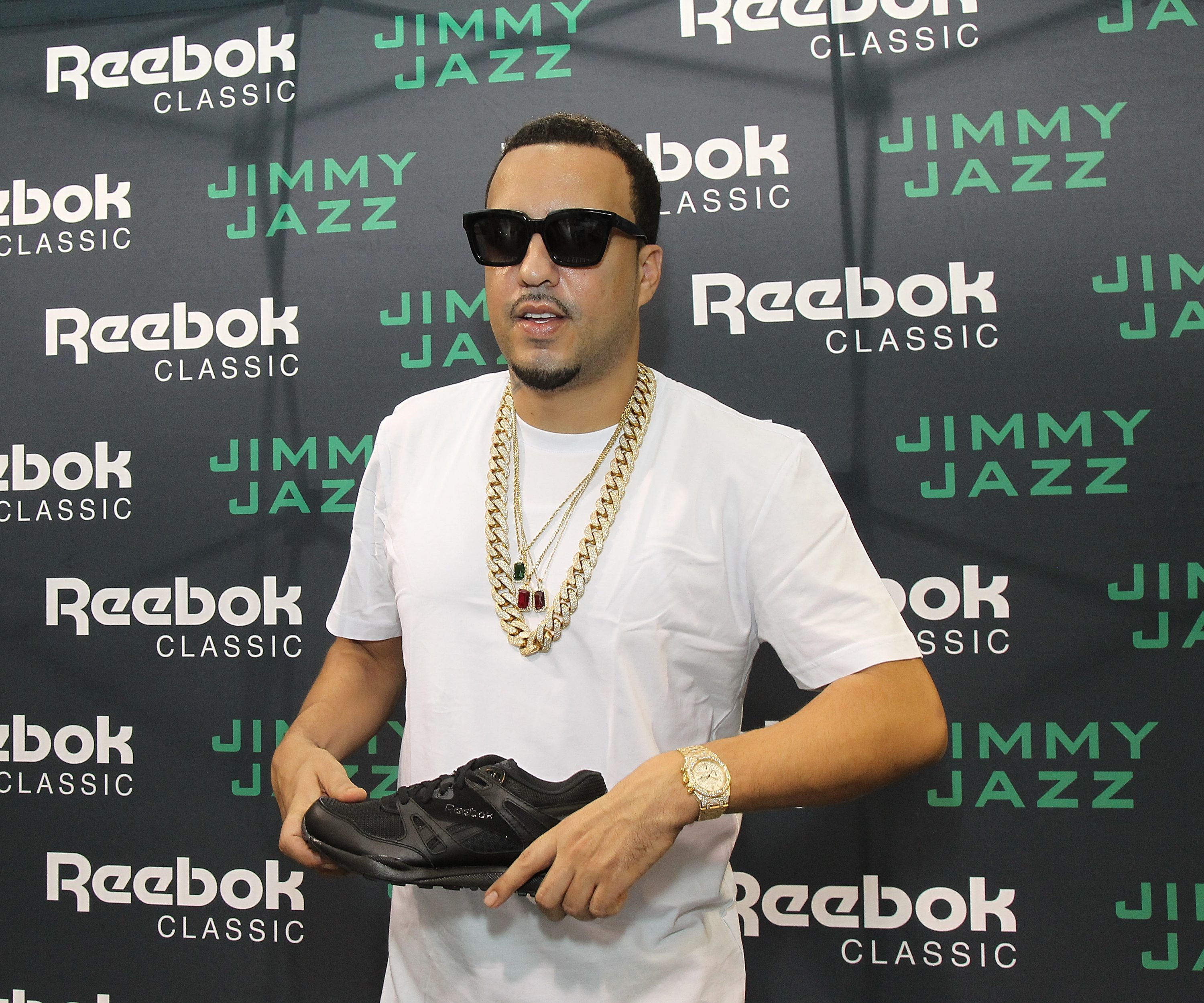 French Montana Meets And Greets Fans For Reebok Classic Ventilator