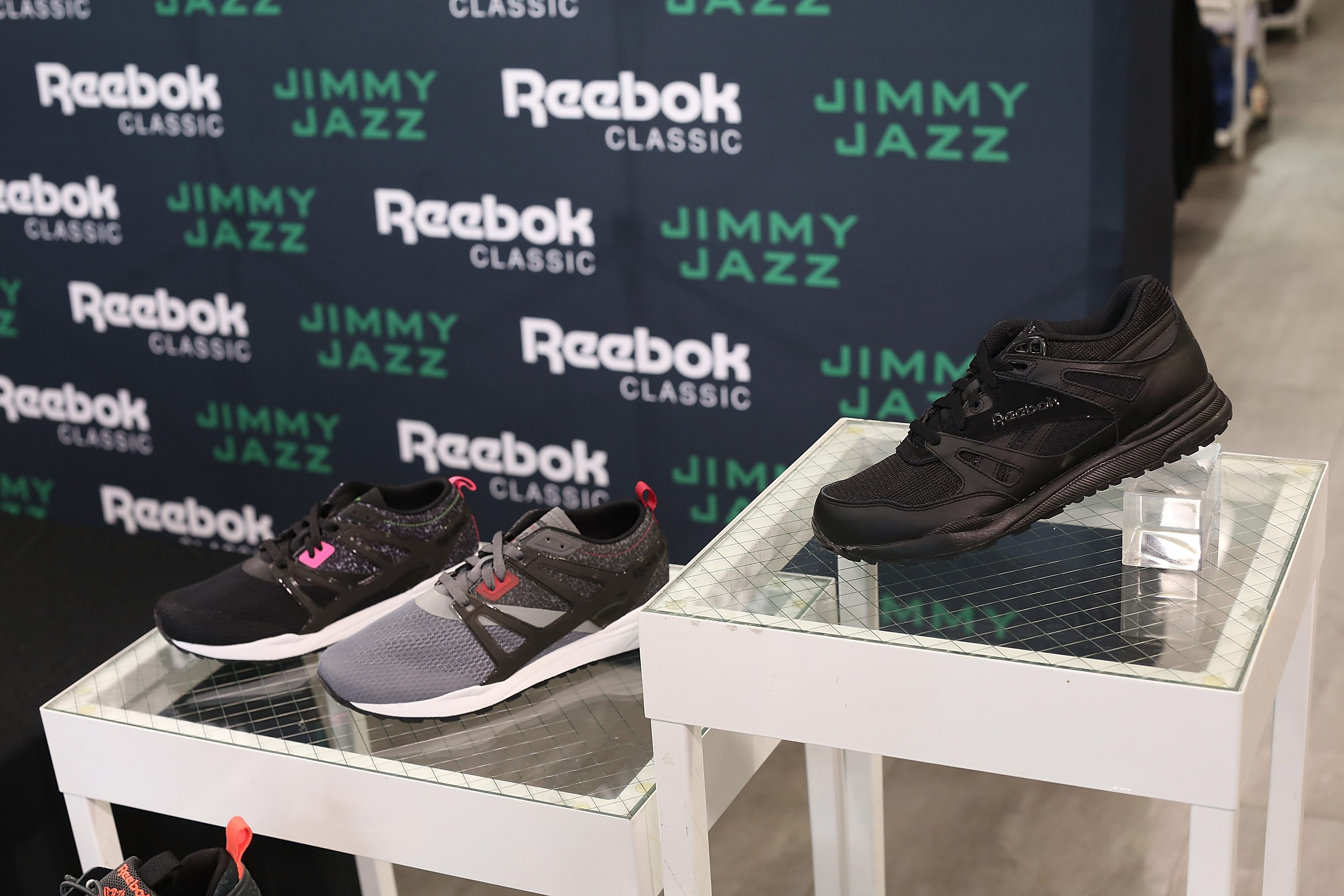 NEW YORK, NY - AUGUST 30:  A general view of the Ventilator ST at Jimmy Jazz in Harlem on August 30, 2015 in New York City.  (Photo by Bennett Raglin/Getty Images for Reebok)