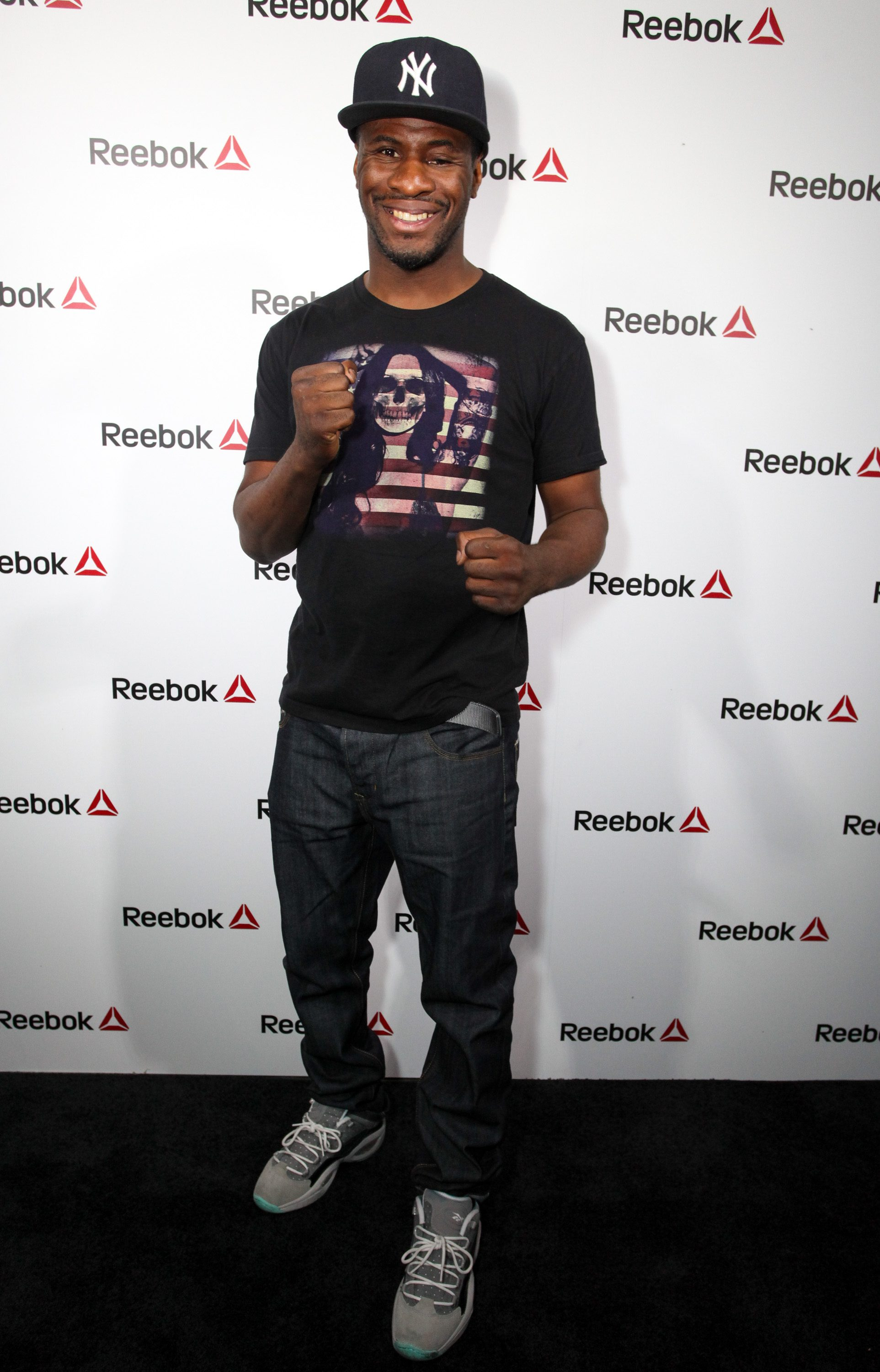 NEW YORK, NY - SEPTEMBER 16: Eric Kelly attends The Reebok #girlswithgrit showcase at Marquee on September 16, 2015 in New York City. (Photo by Donald Bowers/Getty Images for Reebok)