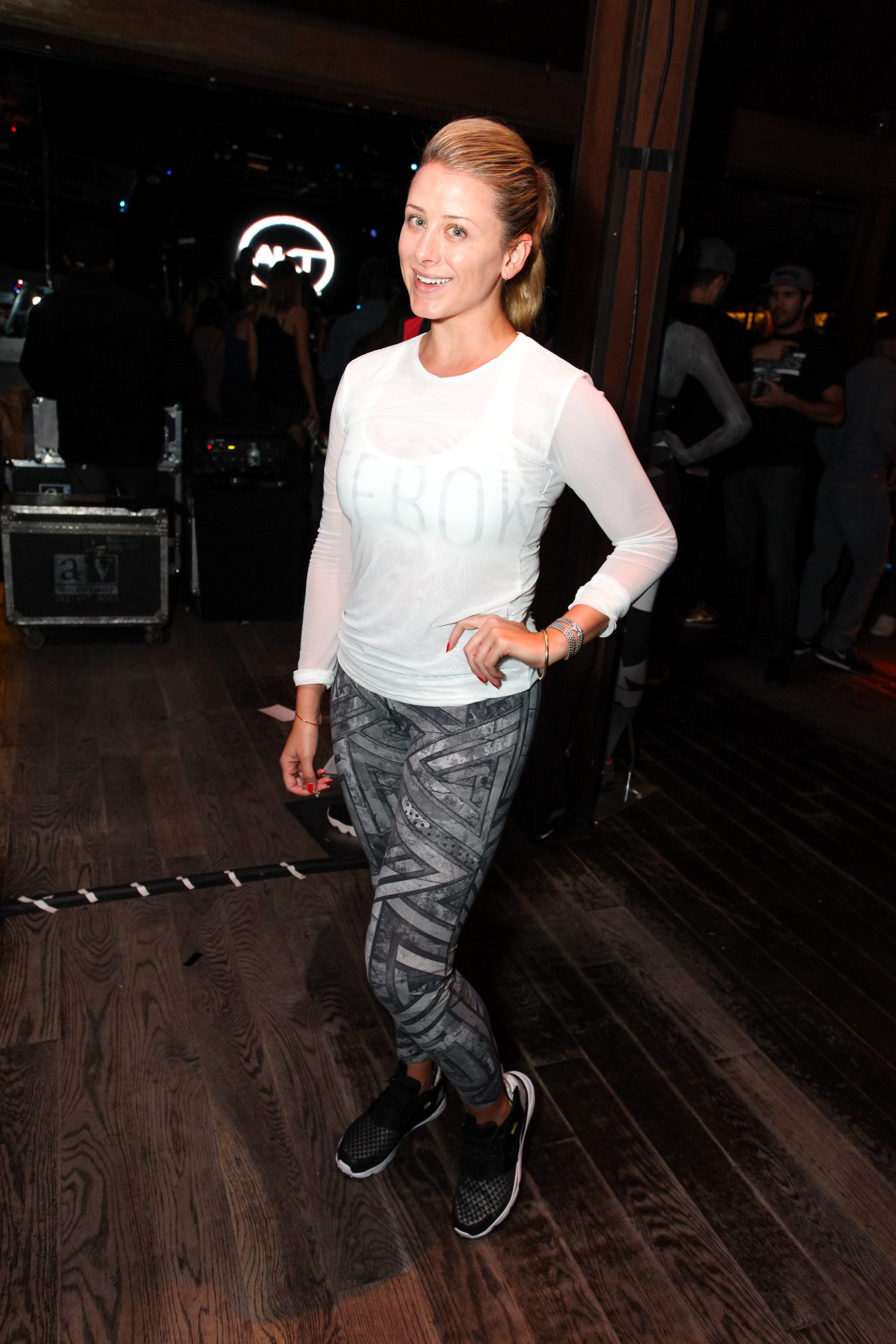 NEW YORK, NY - SEPTEMBER 16: Lo Bosworth attends The Reebok #girlswithgrit showcase at Marquee on September 16, 2015 in New York City. (Photo by Donald Bowers/Getty Images for Reebok)