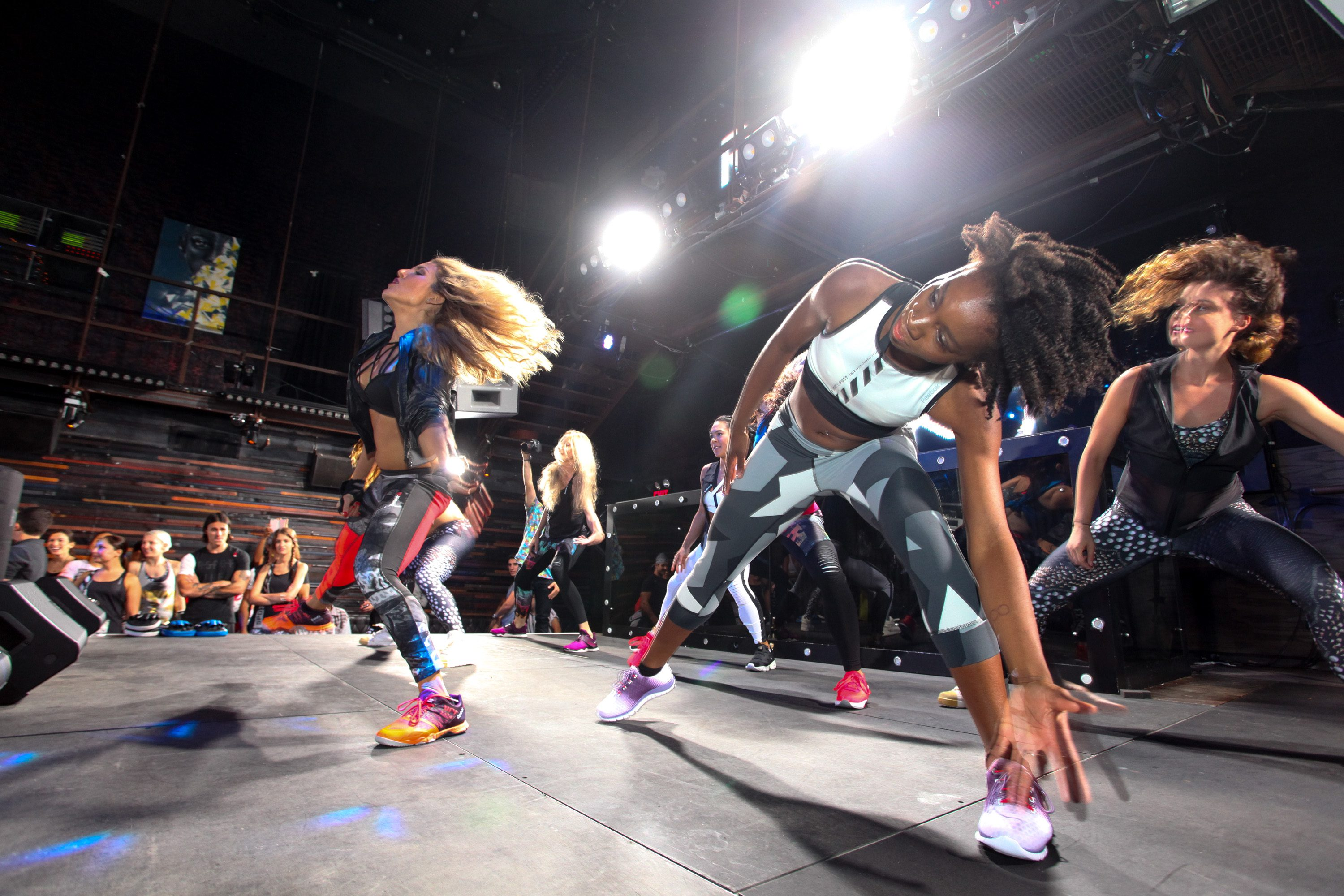 NEW YORK, NY - SEPTEMBER 16: AKT in Motion Class at Marquee on September 16, 2015 in New York City. (Photo by Donald Bowers/Getty Images for Reebok)