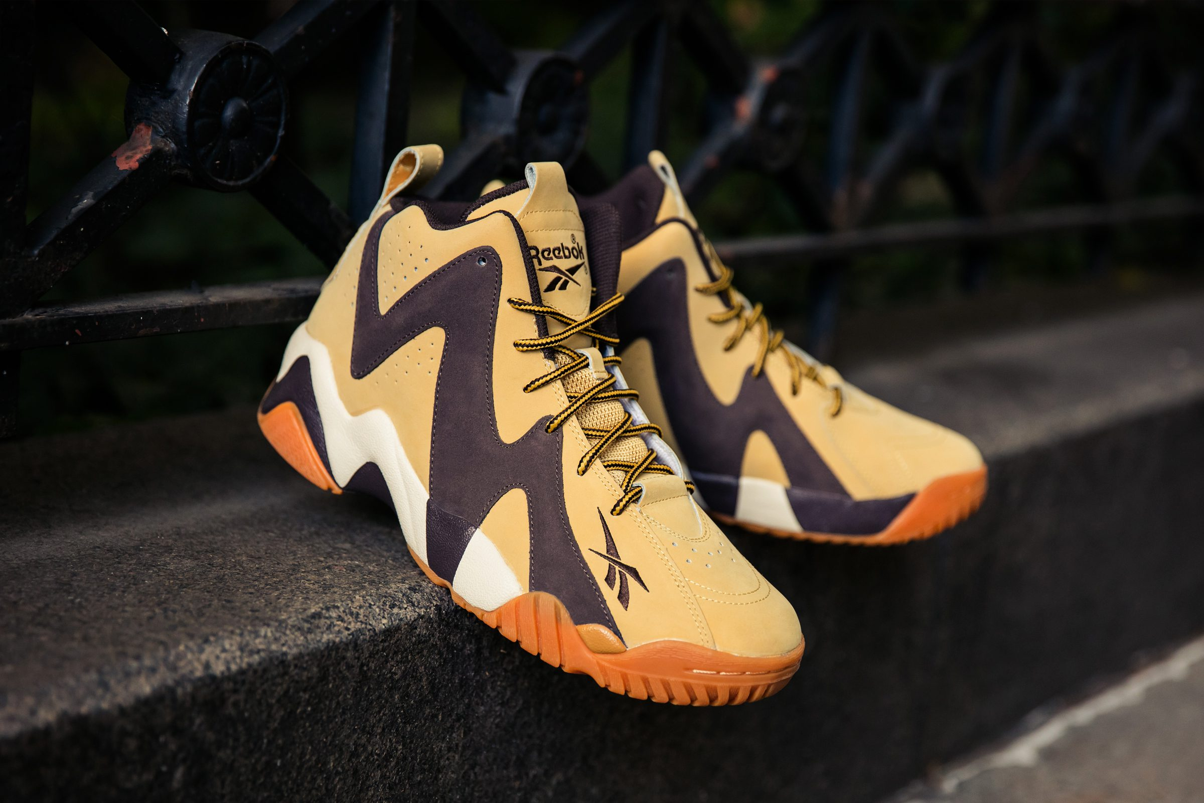 Reebok Classic Kamikaze II Mid Stay Storm Ready gets  Wheat Pack ... 29b9e4ccb