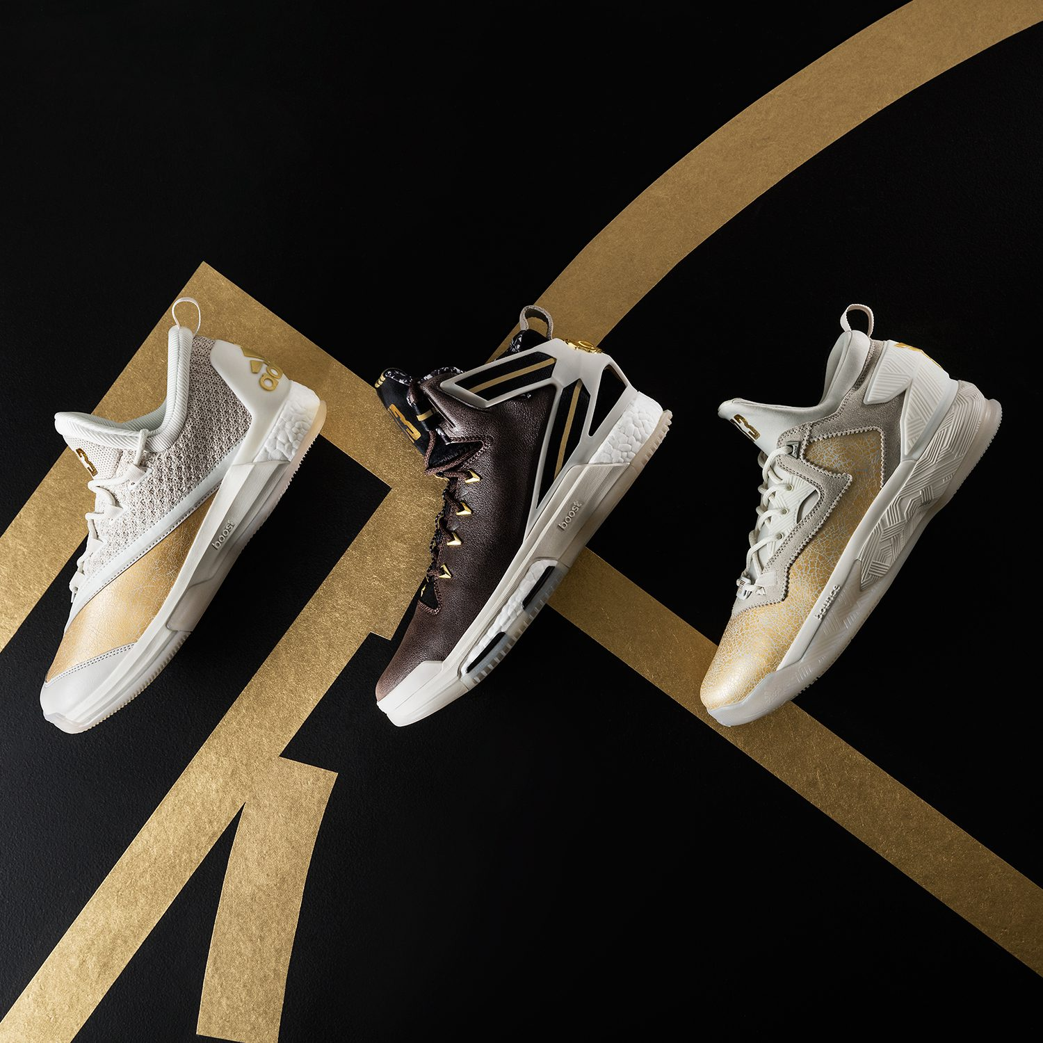 reputable site 45da4 f9e24 adidas Basketball Black History Month x Jesse Owens Collection honors  legends golden glory