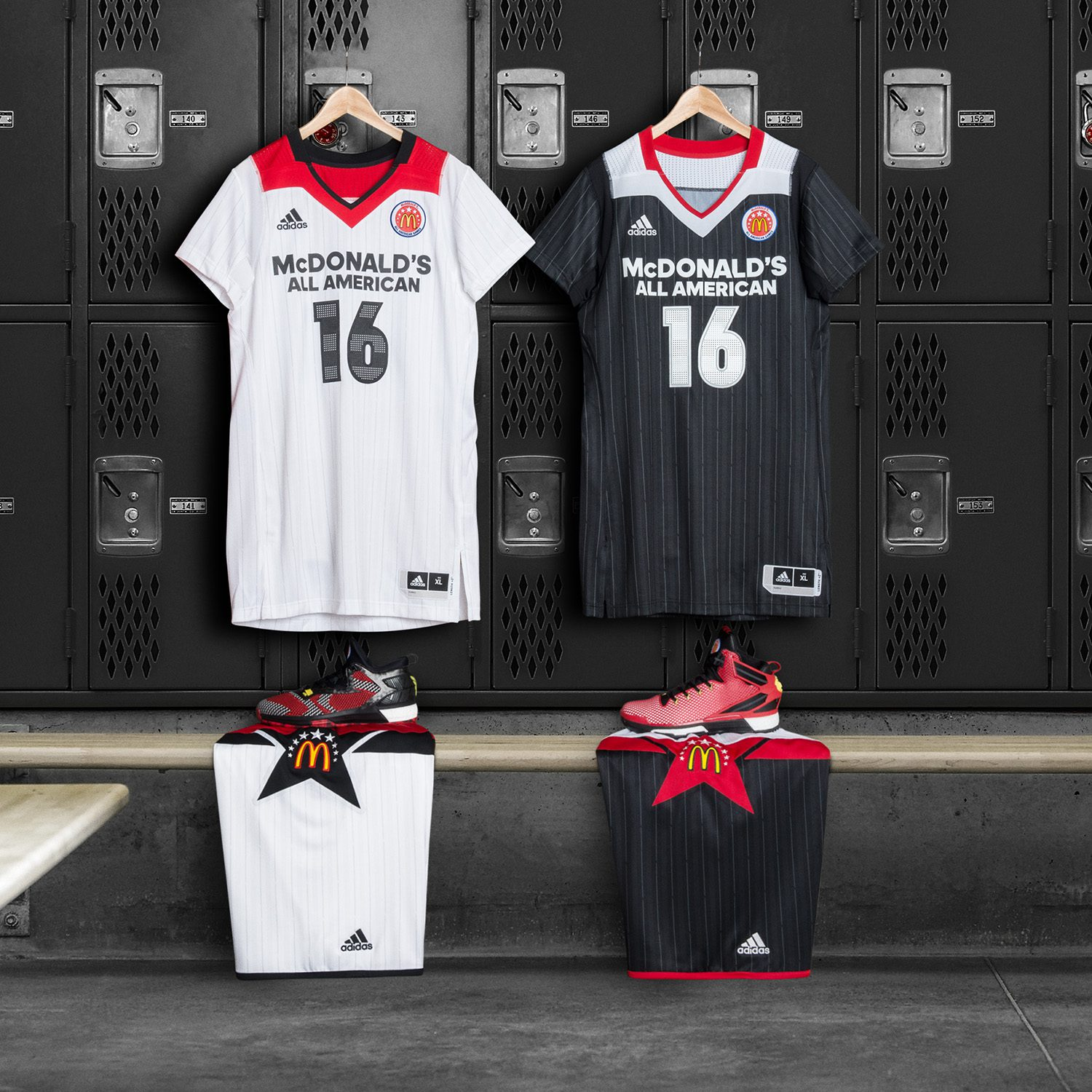 12207ff959 adidas Unveils Uniform Collection for 2016 McDonald¹s All American ...