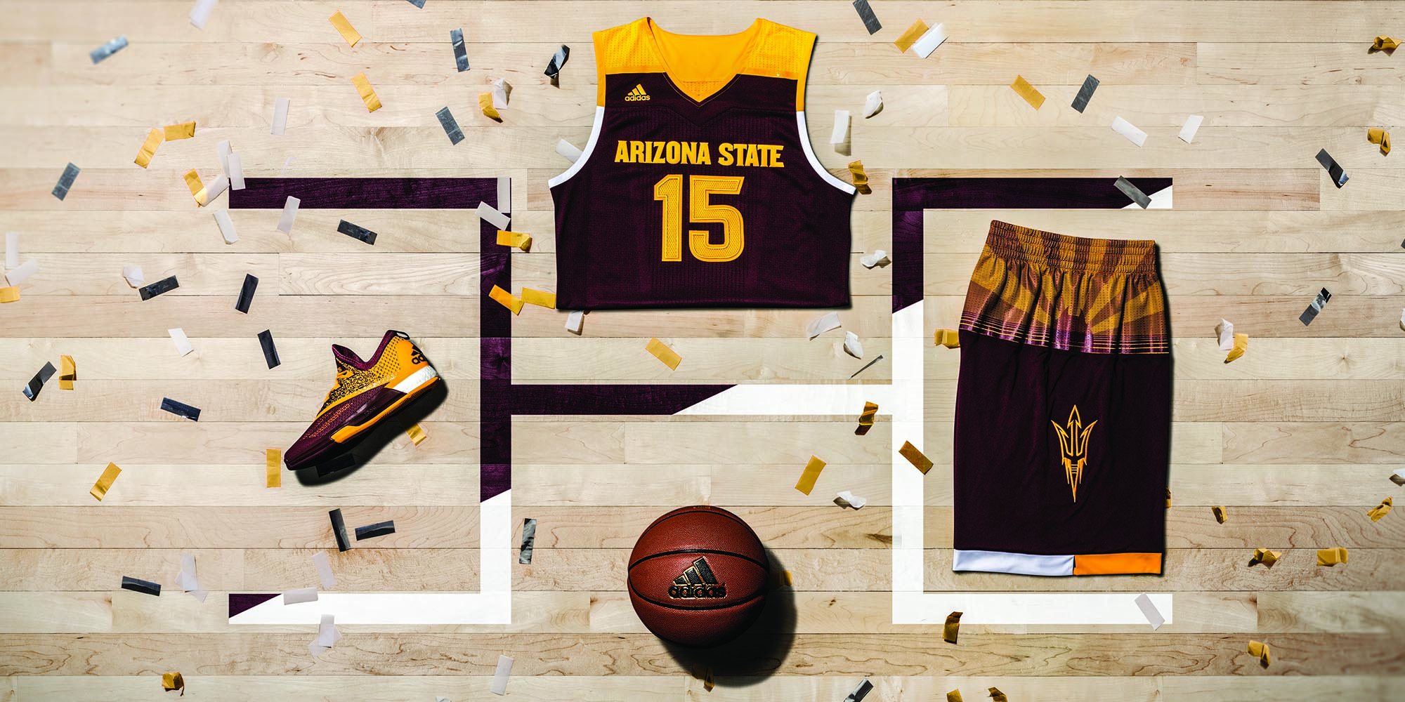2016 Made in March ASU Away Horizontal