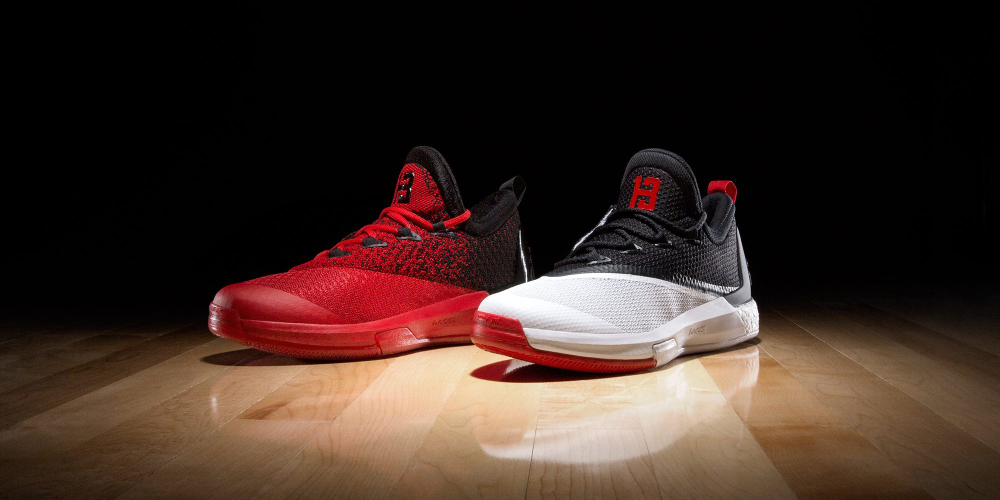 sports shoes 62385 03858 australia adidas harden red pink 59344 9bce4  official store adidas and  james harden reveal home and road crazylight boost 2.5 pes hardwood and