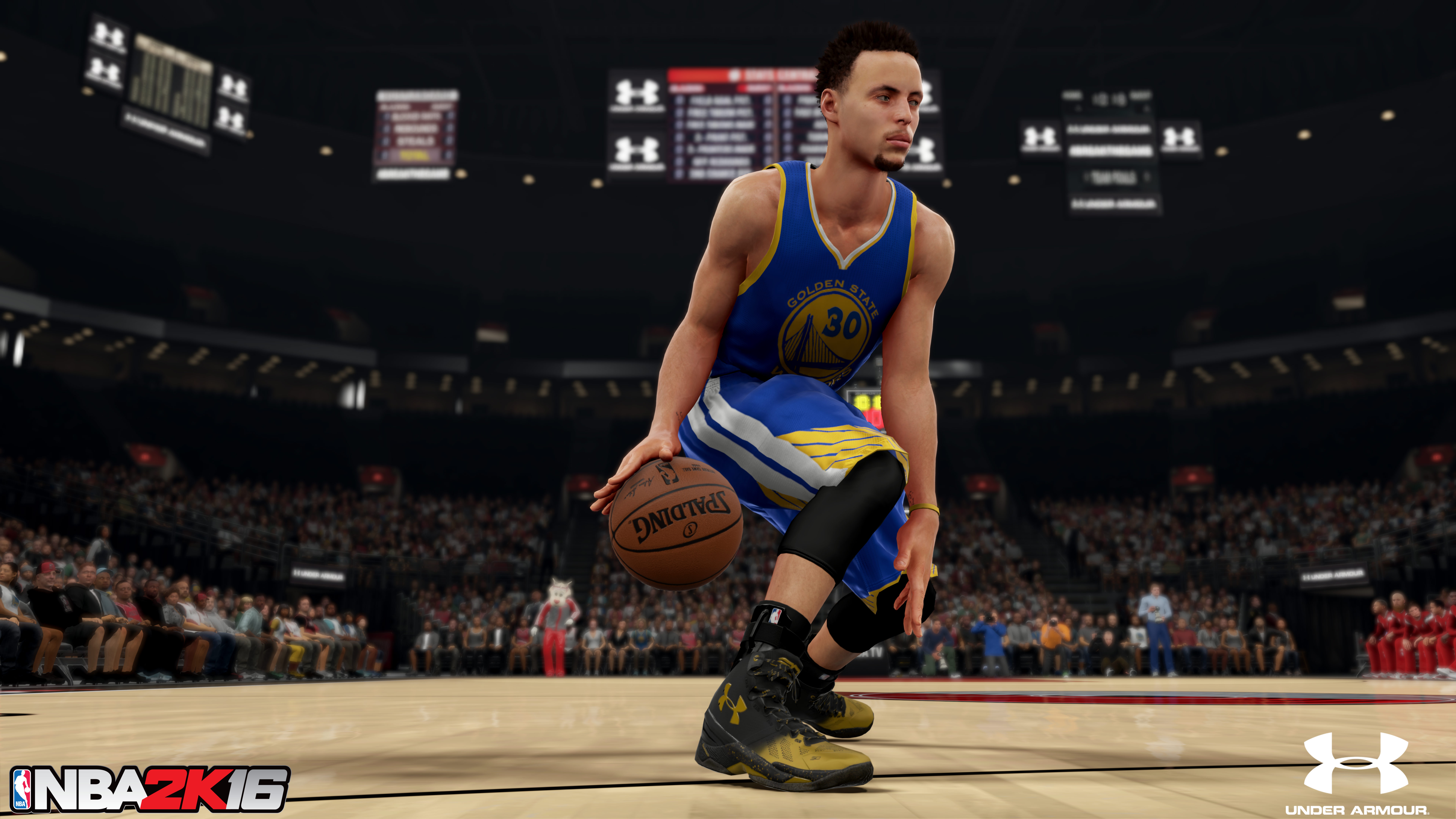 Under Armour Helps Stephen Curry #BreakTheGame With NBA 2K