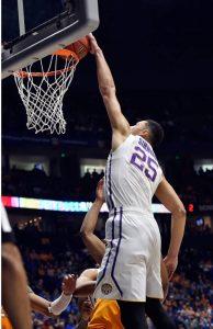 Image courtesy of LSU Basketball.