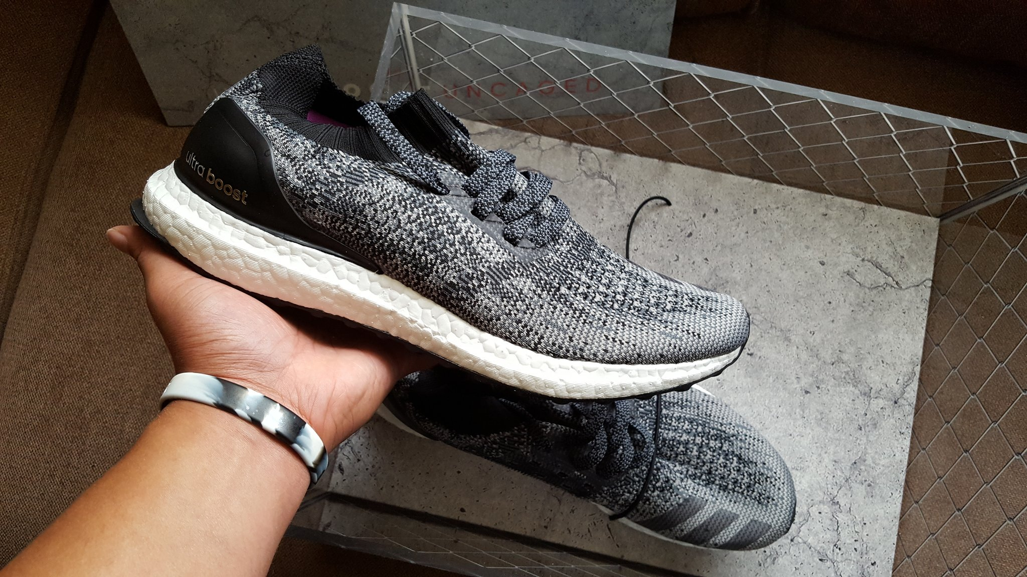270c7abb2 Special Delivery  The adidas UltraBOOST Uncaged - Hardwood and Hollywood